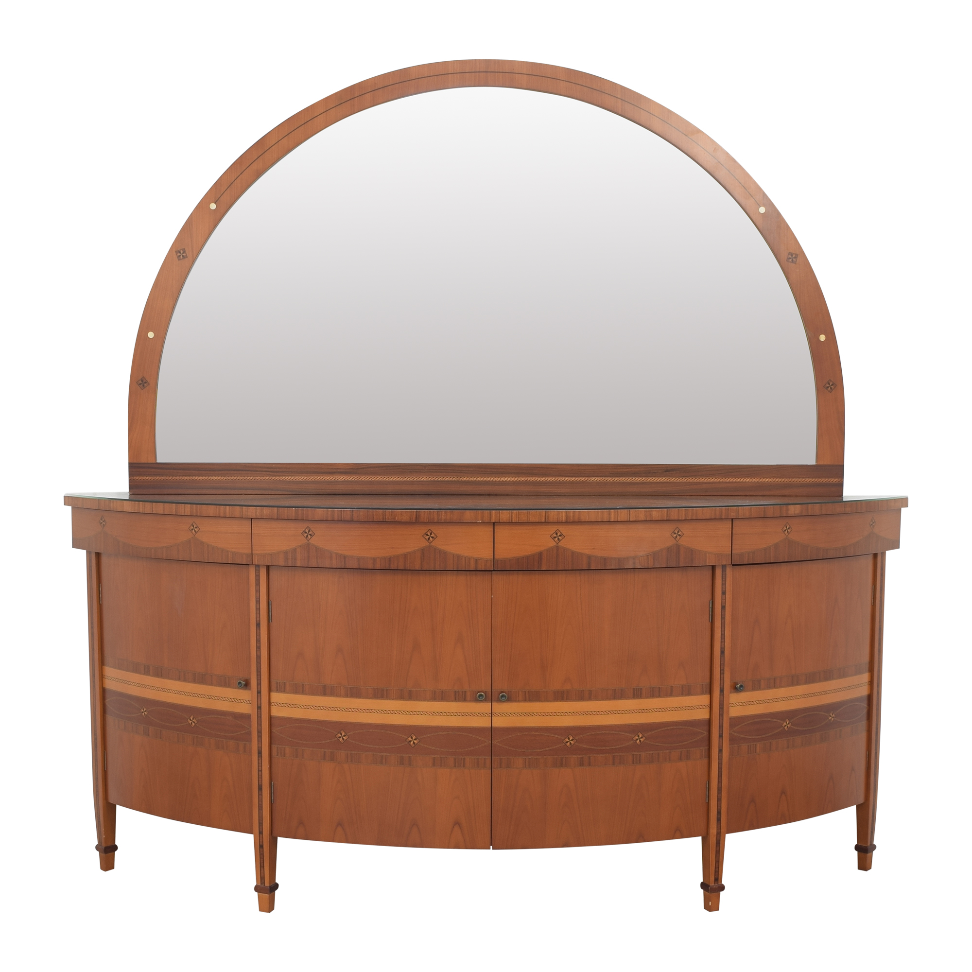 World of Decor World of Decor Sideboard with Mirror on sale