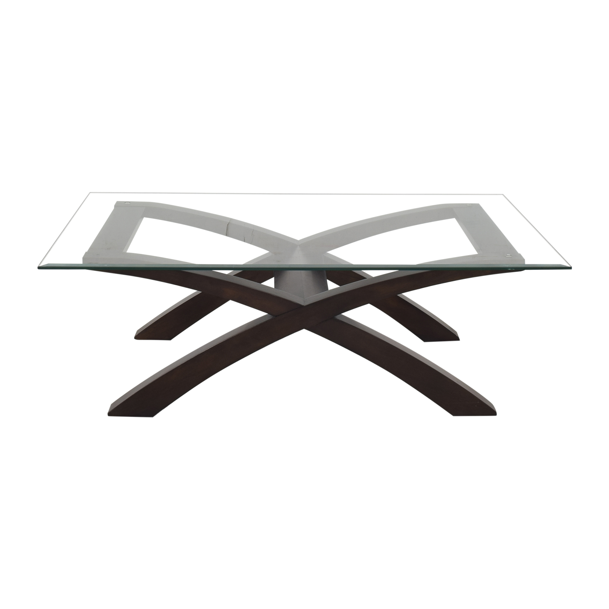 shop Macy's Cross Bottom Coffee Table Macy's