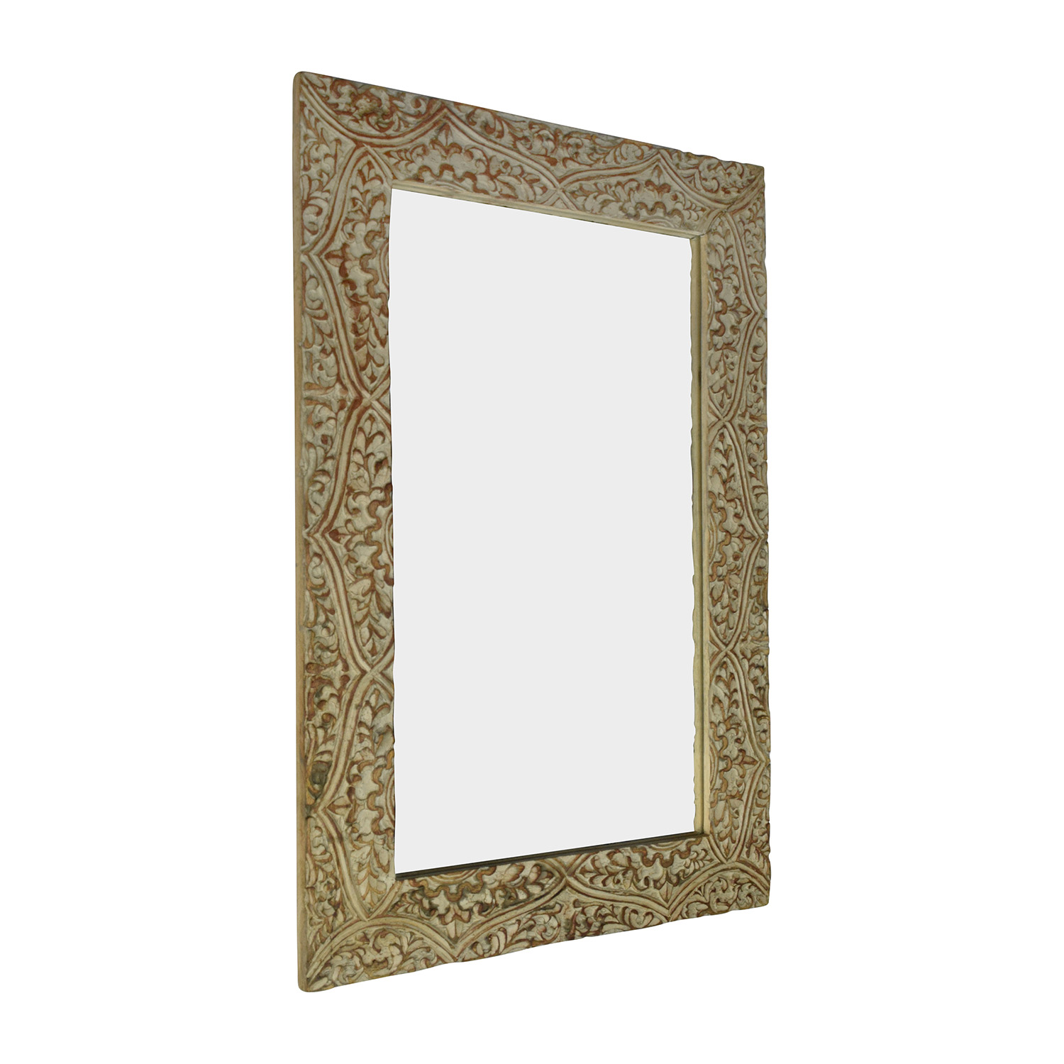buy Wayfair Fleur Gray Carved Mirror Wayfair Mirrors