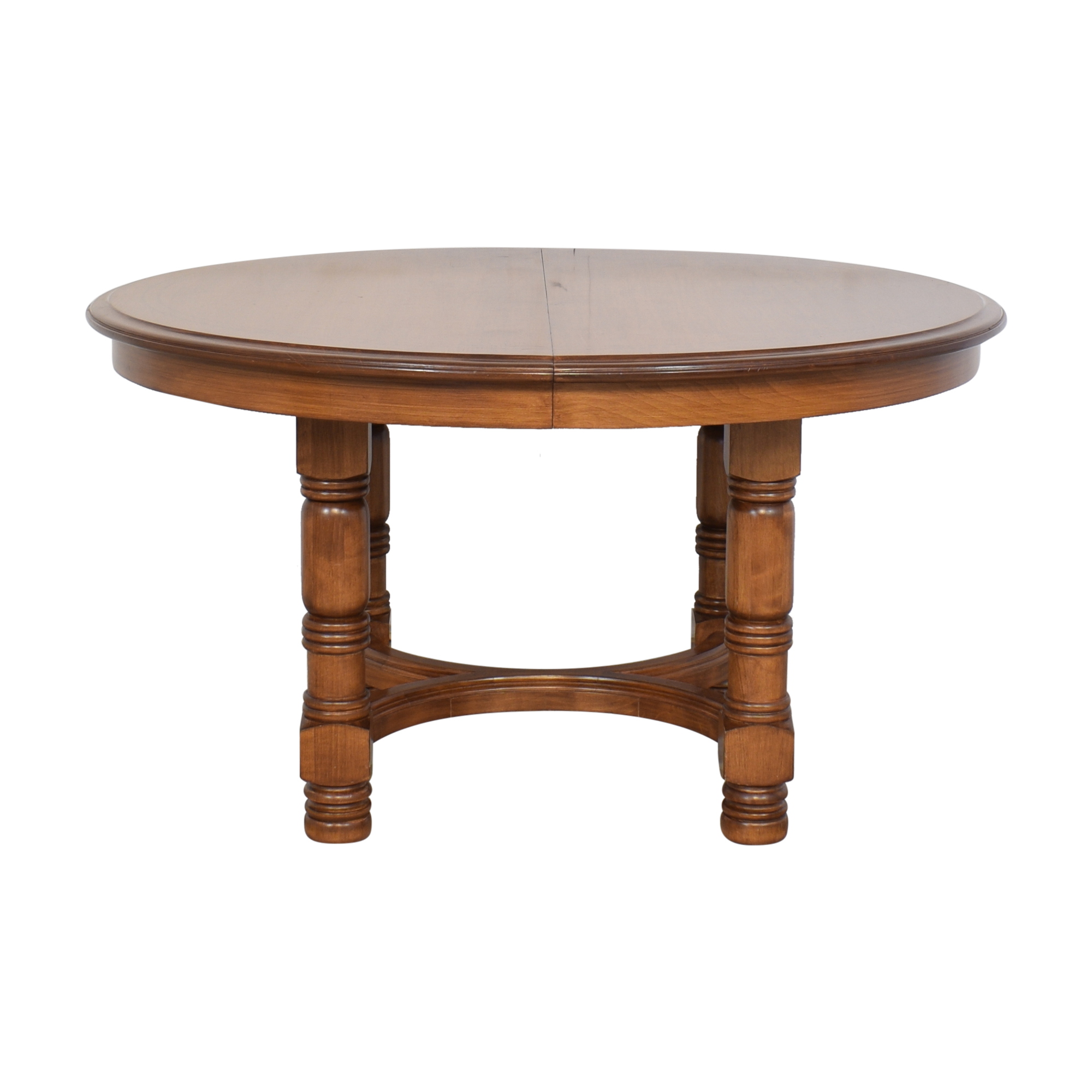 Round Extendable Dining Table sale
