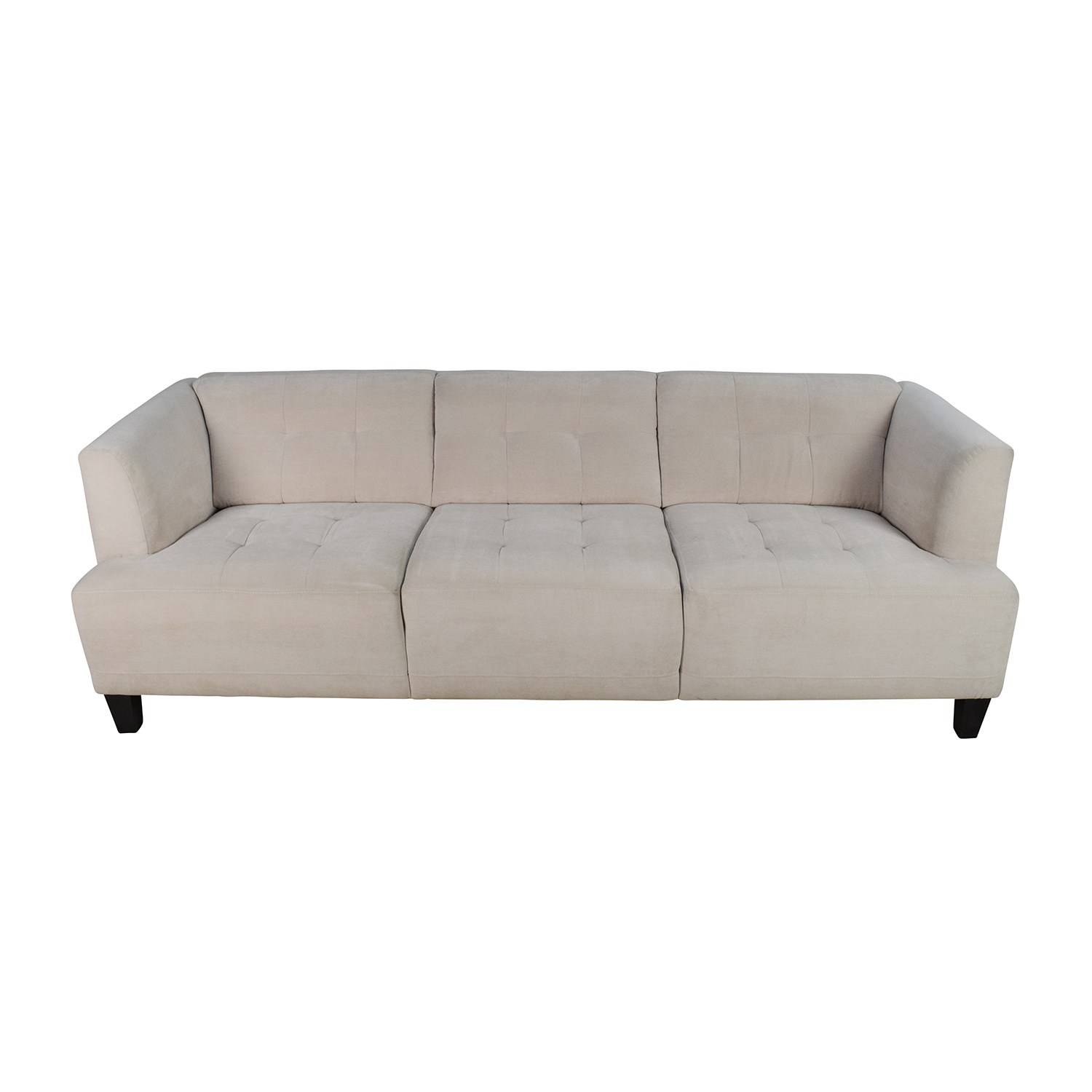 Macys Alessia Pearl Button Tufted Sofa Macys