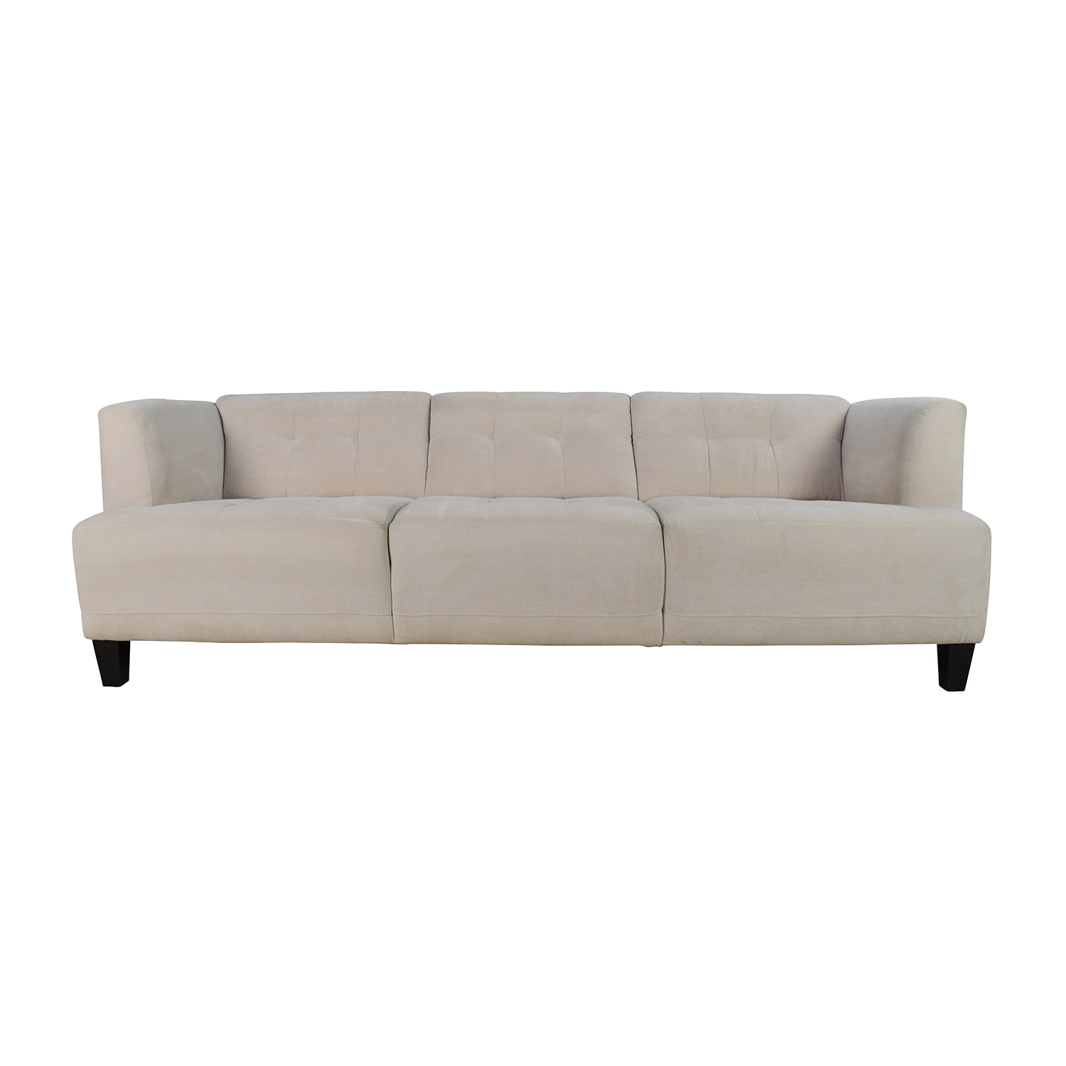 Macys Macys Alessia Pearl Button Tufted Sofa