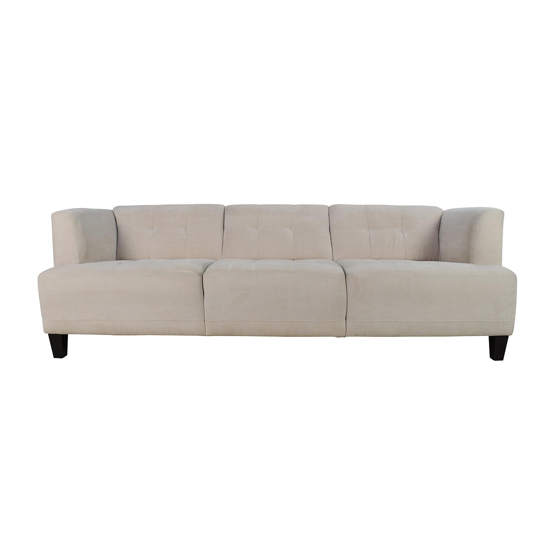 Bon 56% OFF   Macyu0027s Macyu0027s Alessia Pearl Button Tufted Sofa / Sofas