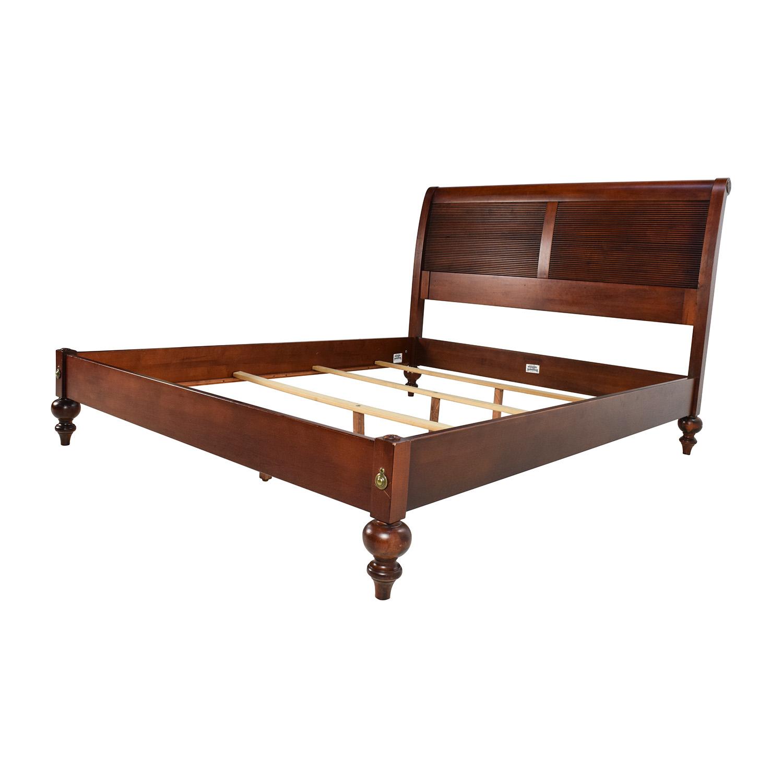 Ethan allen platform bed alluring shop beds king queen size bed frames ethan allen - Ethan allen queen beds ...