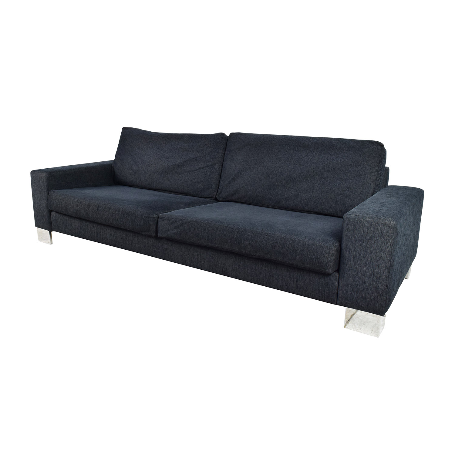 74 off boconcept boconcept cenova dark navy sofa sofas. Black Bedroom Furniture Sets. Home Design Ideas