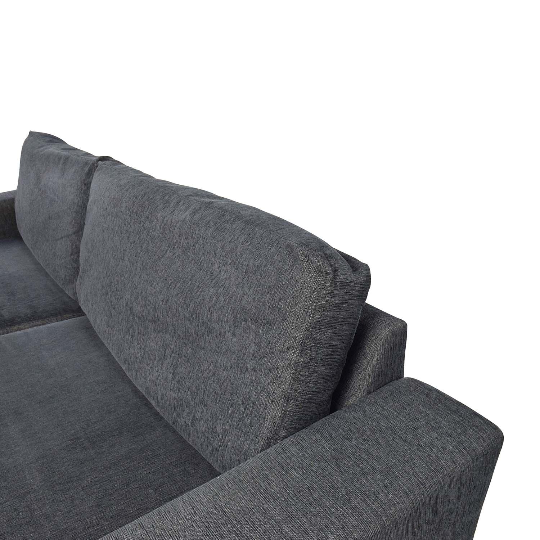 74 off boconcept boconcept cenova dark navy sofa sofas. Black Bedroom Furniture Sets. Home Design Ideas