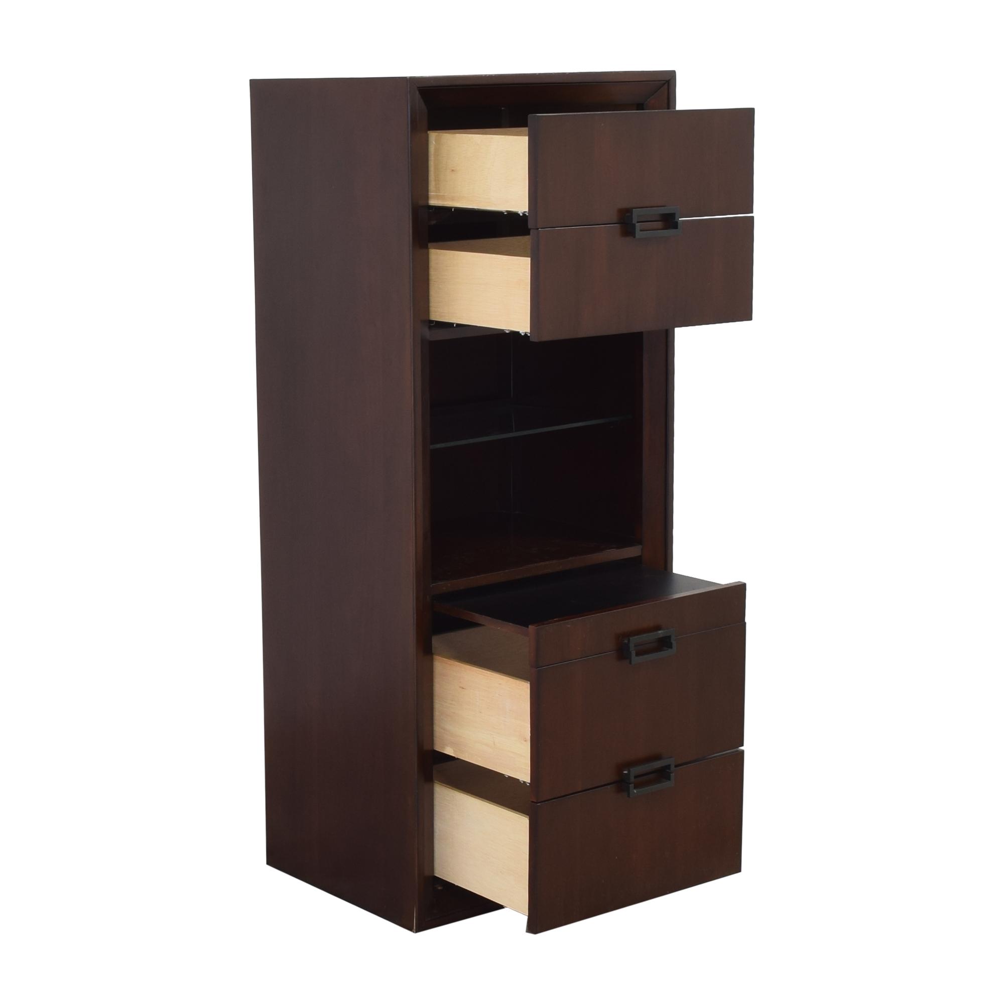Raymour & Flanigan Raymour & Flanigan Vista Bedside Cabinet dimensions