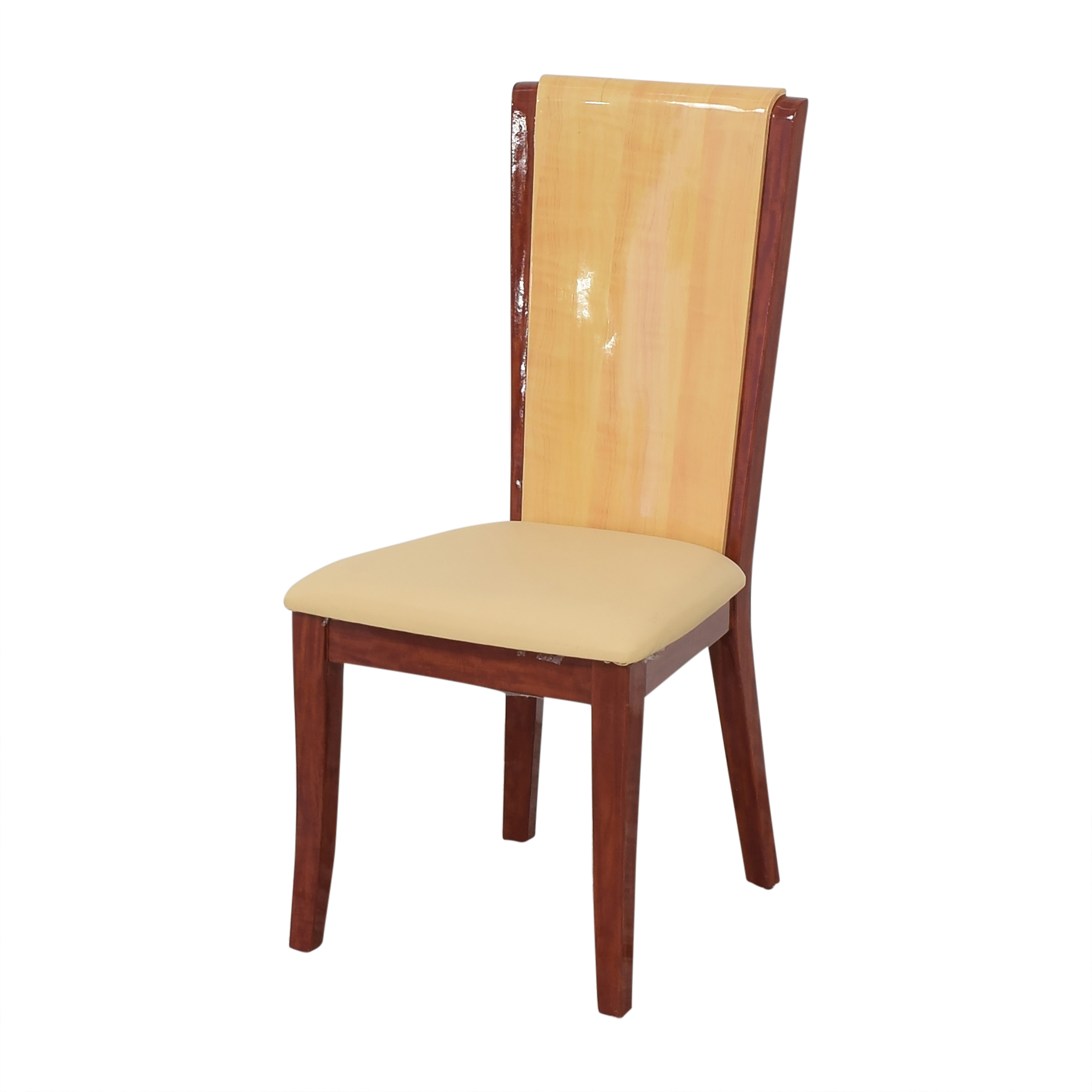buy Italian Style High Back Dining Chairs Global