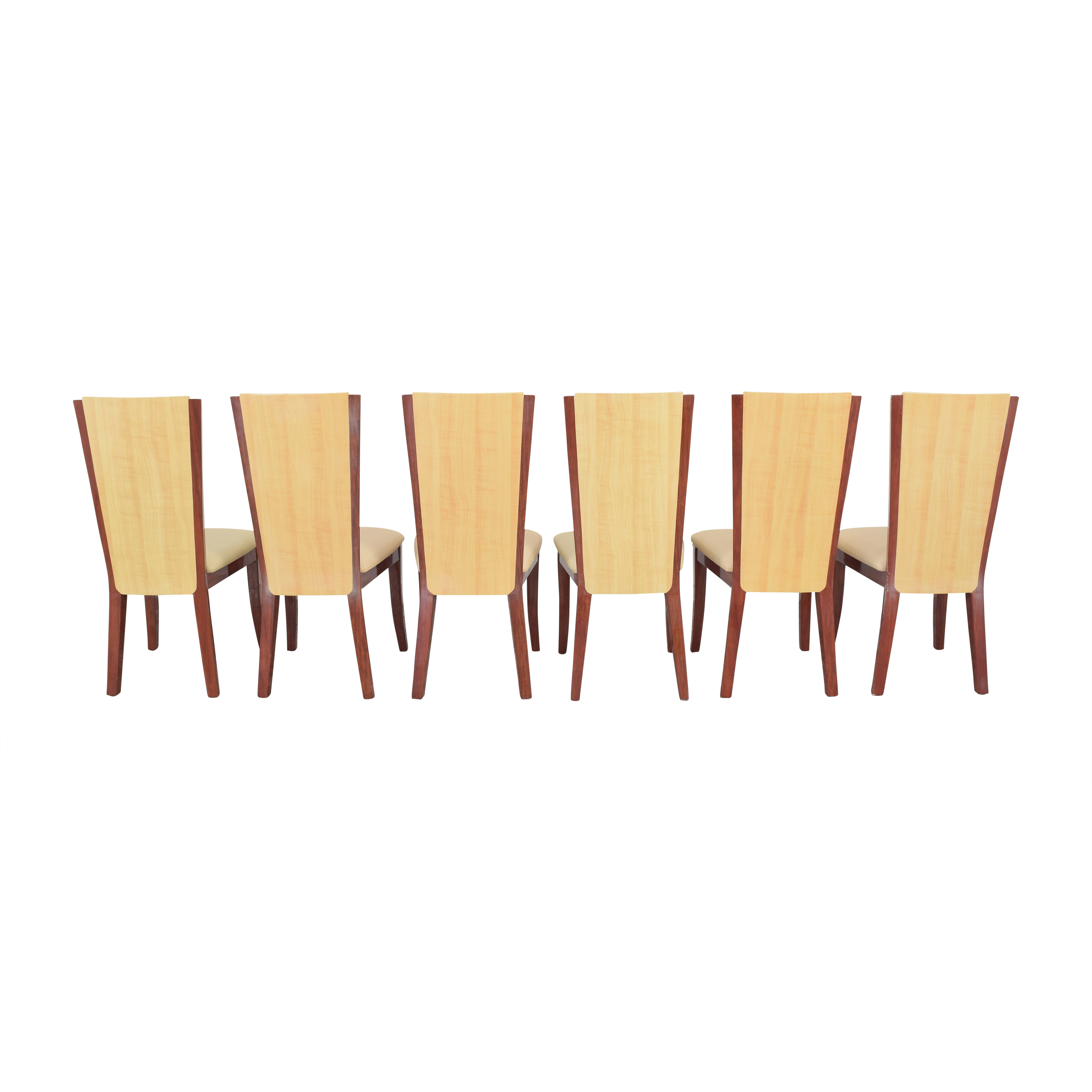 Italian Style High Back Dining Chairs / Dining Chairs