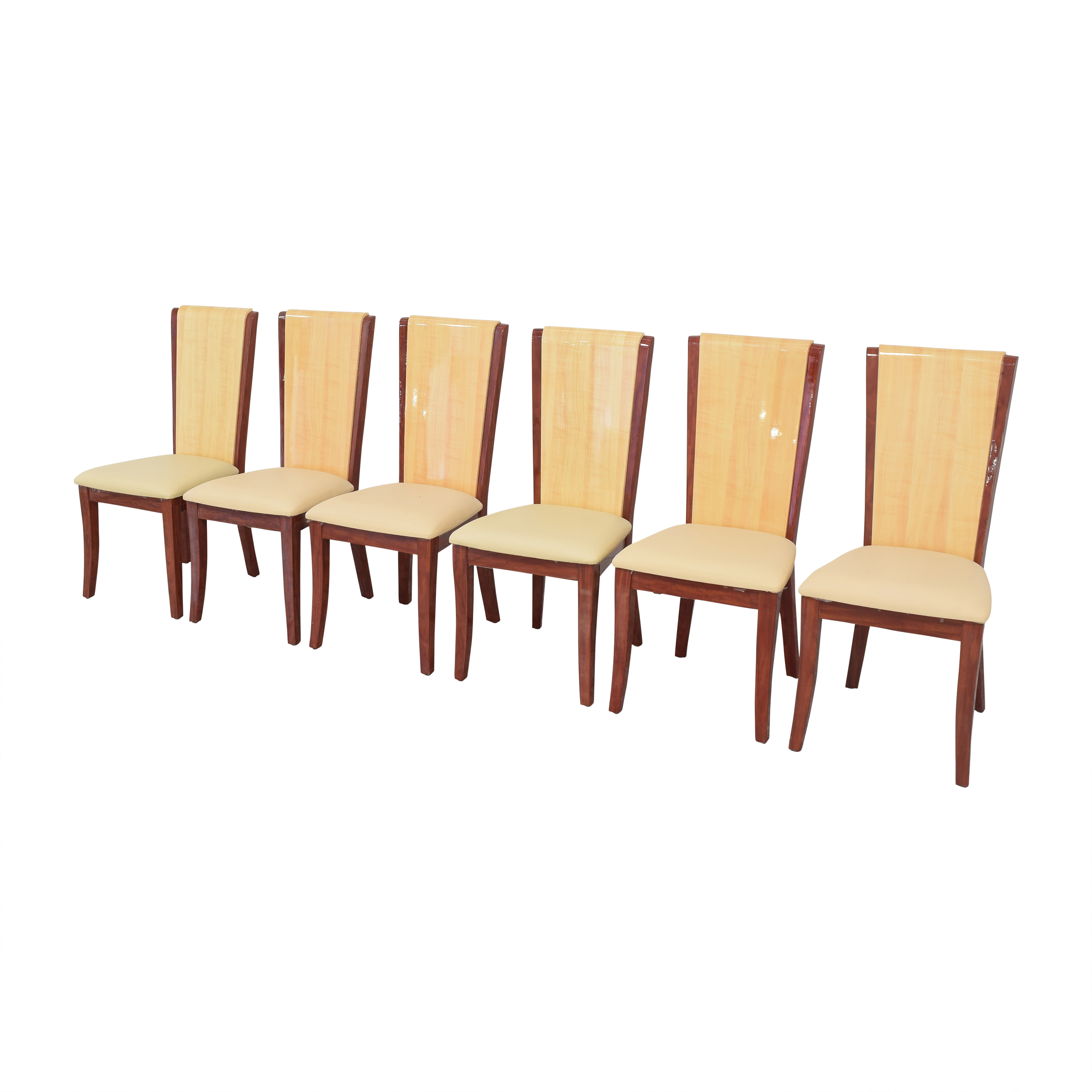buy Global Italian Style High Back Dining Chairs online