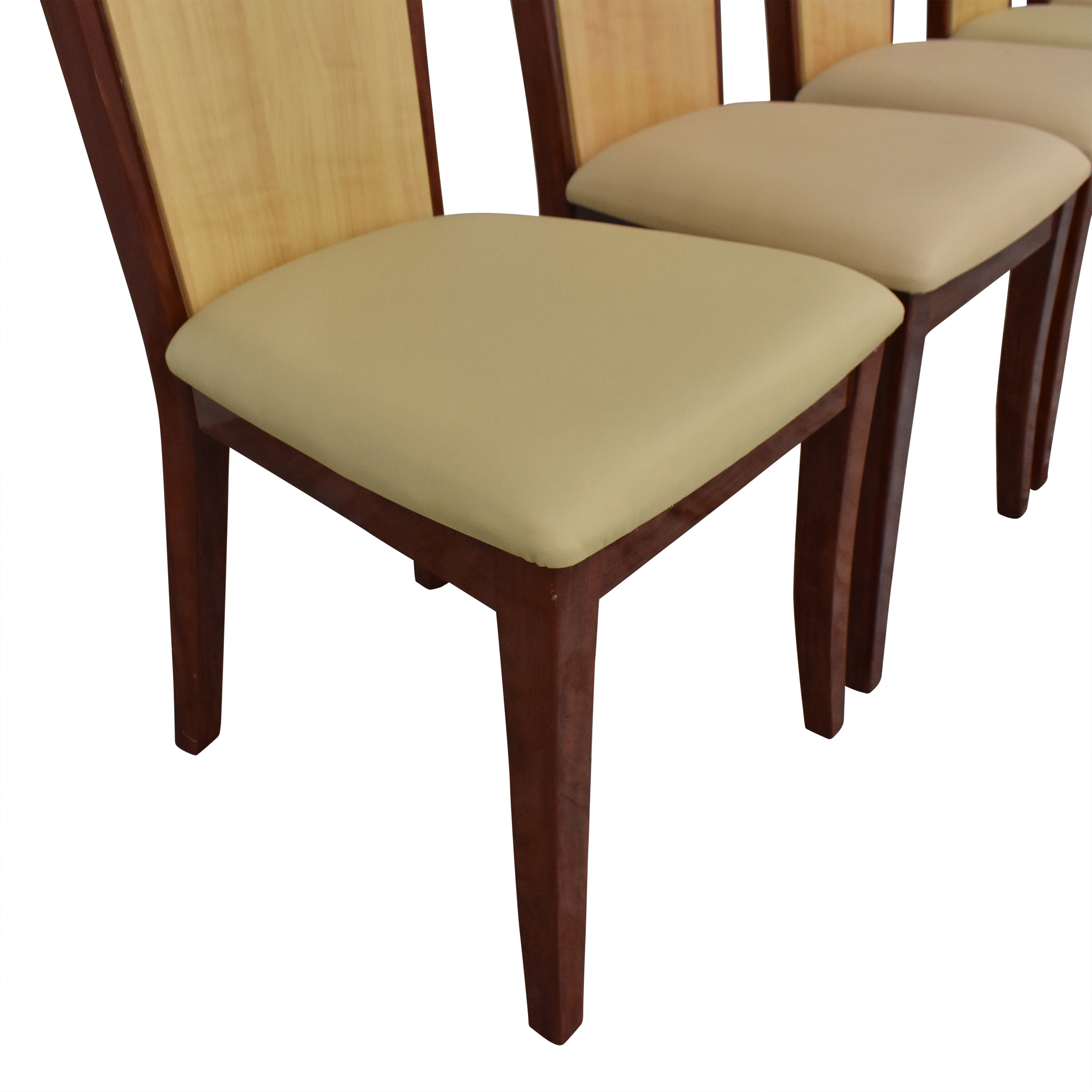 Global Italian Style High Back Dining Chairs pa