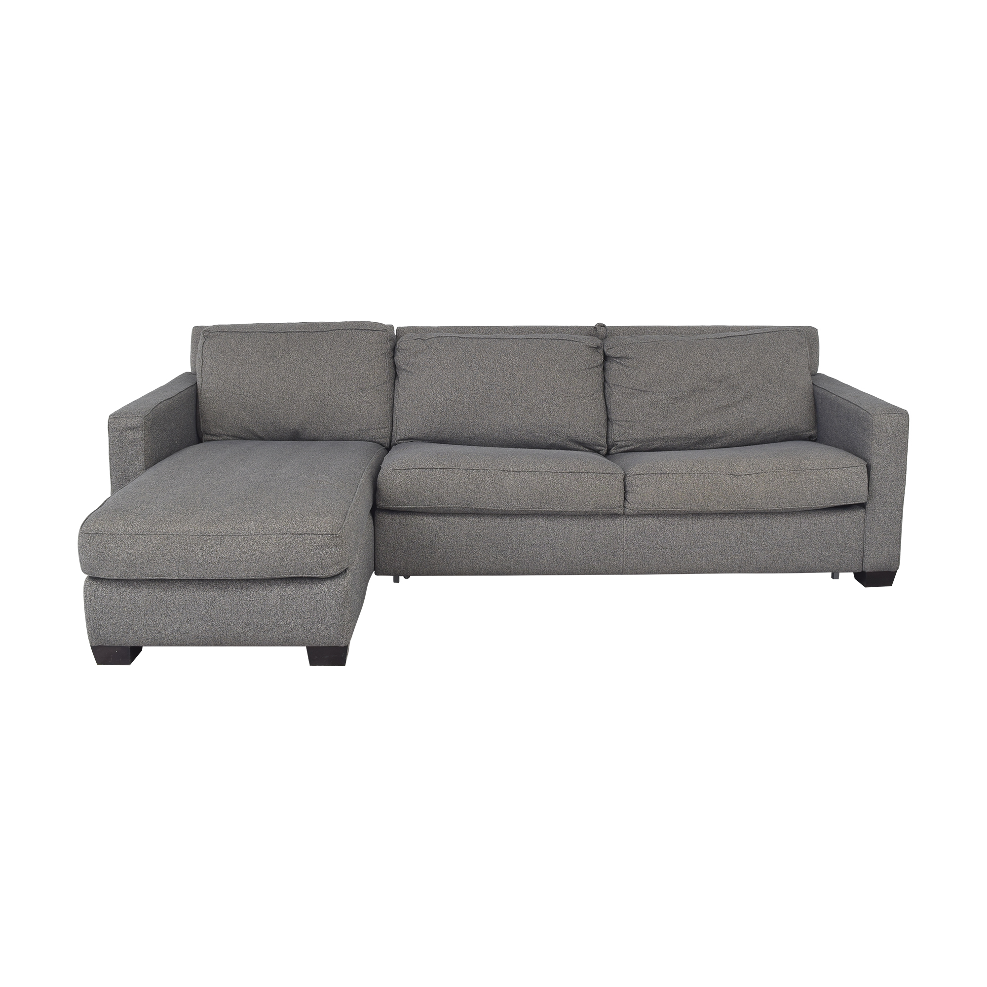 West Elm West Elm Henry 2-Piece Full Sleeper Sectional with Storage nj