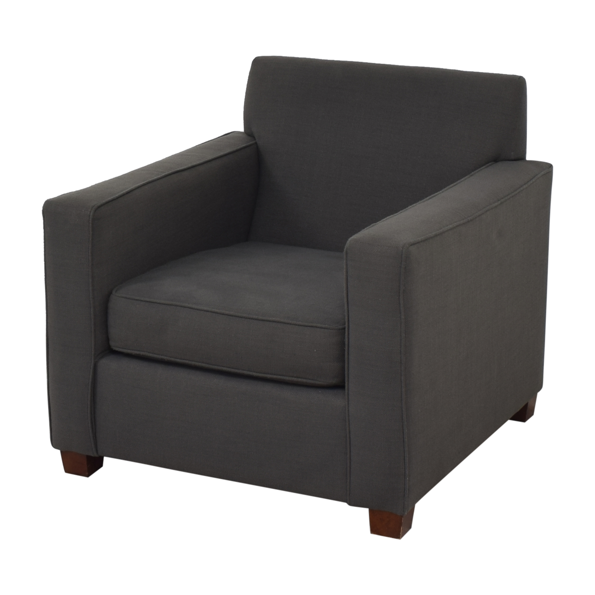 West Elm West Elm Henry Chair and Ottoman