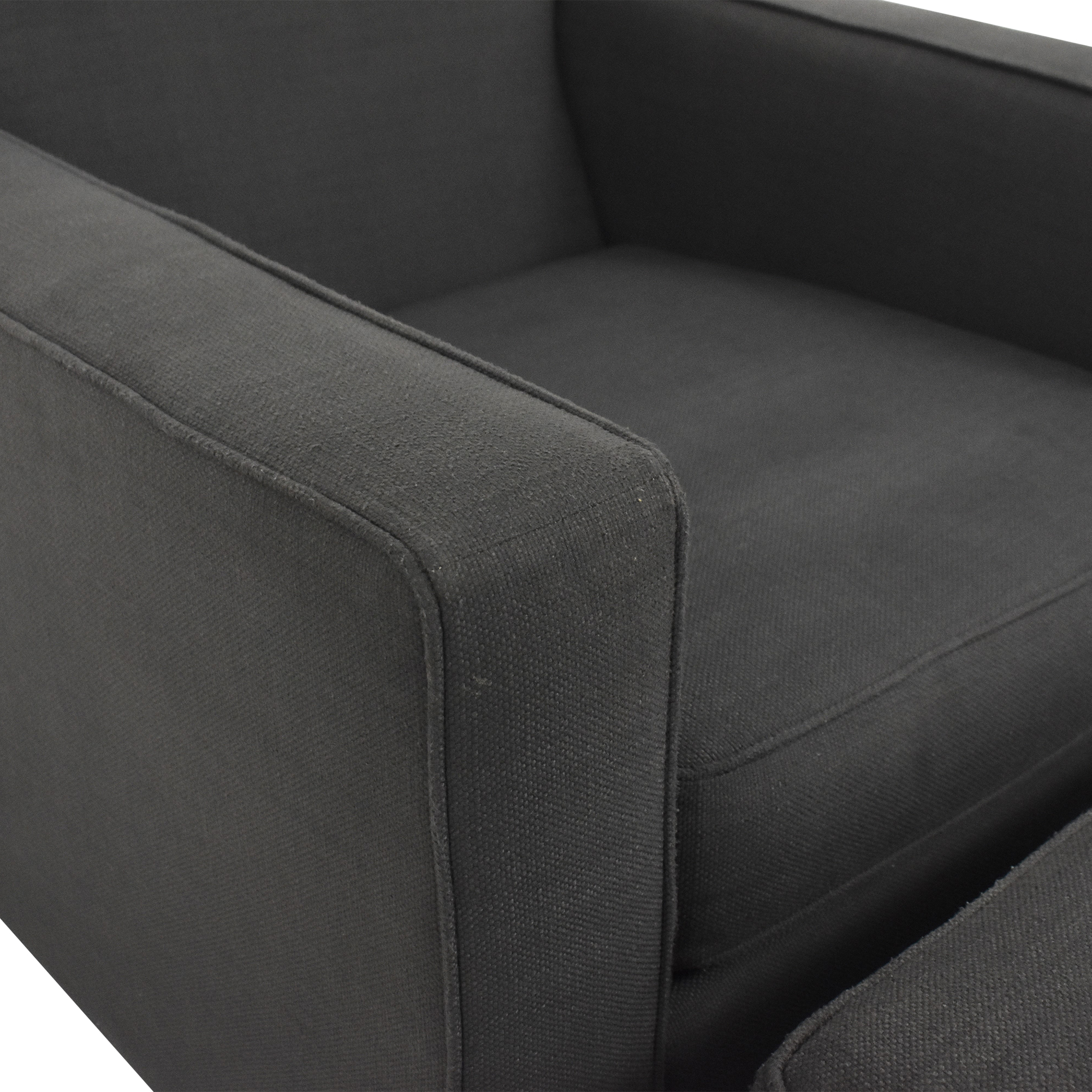 buy West Elm Henry Chair and Ottoman West Elm