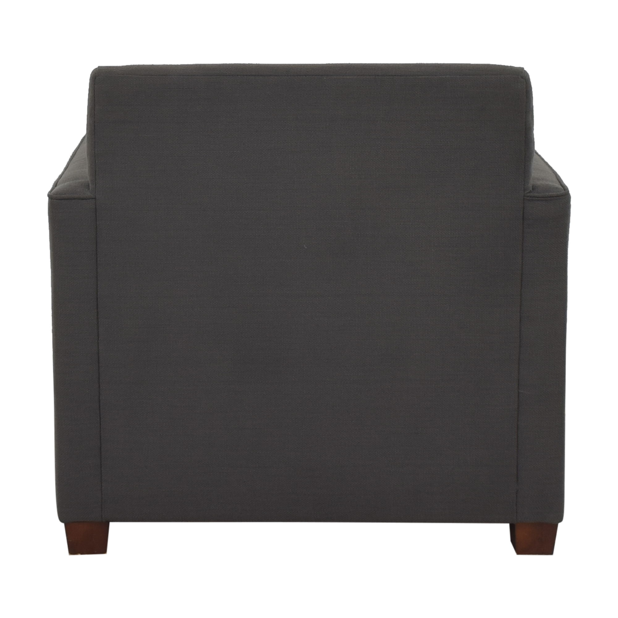West Elm Henry Chair and Ottoman sale