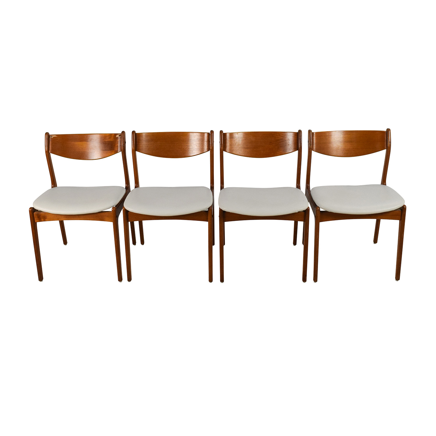 buy Farso Stolefabrik Danish Teak Chair Set Farso Stolefabrik Dining Chairs