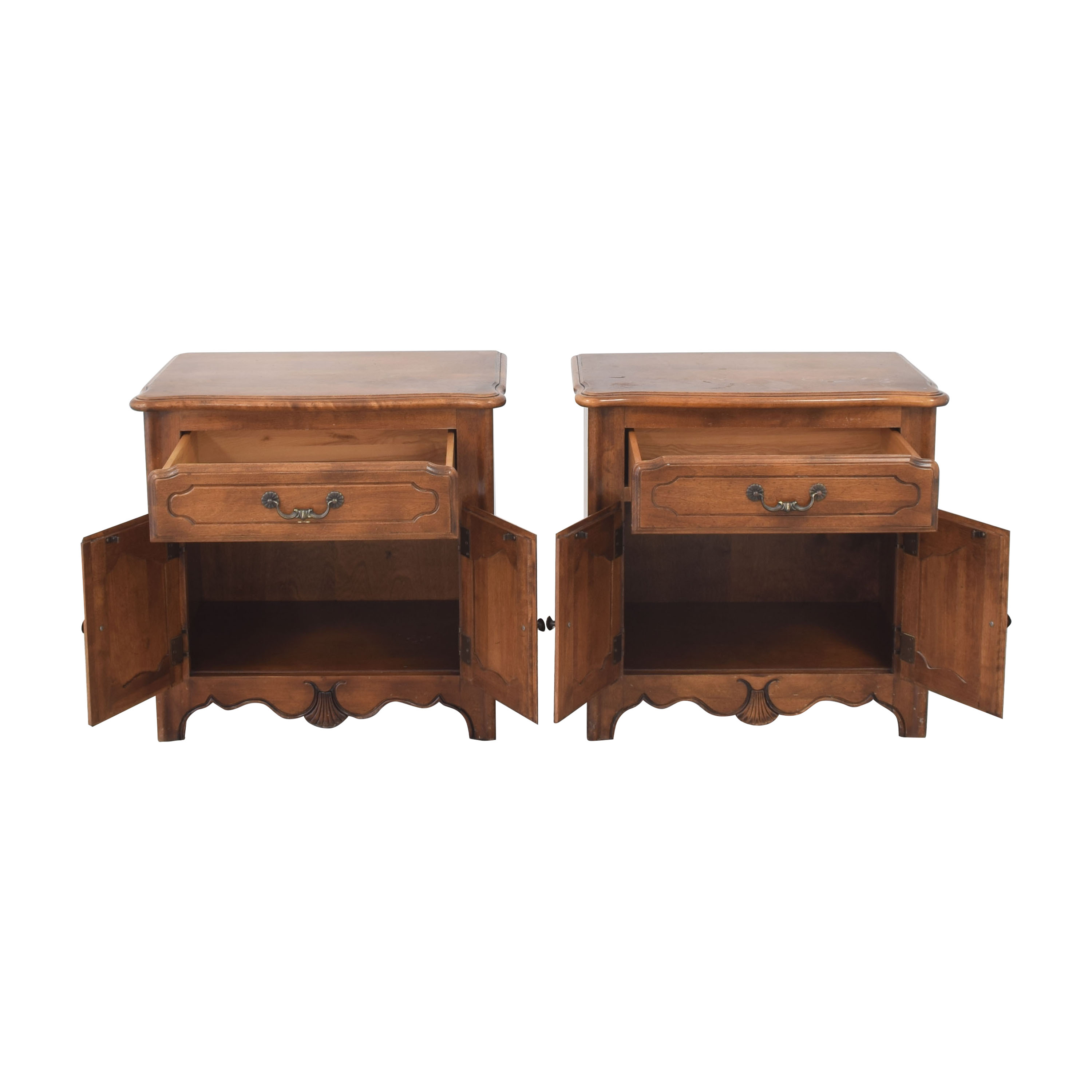 shop Ethan Allen French Country Nightstands Ethan Allen End Tables