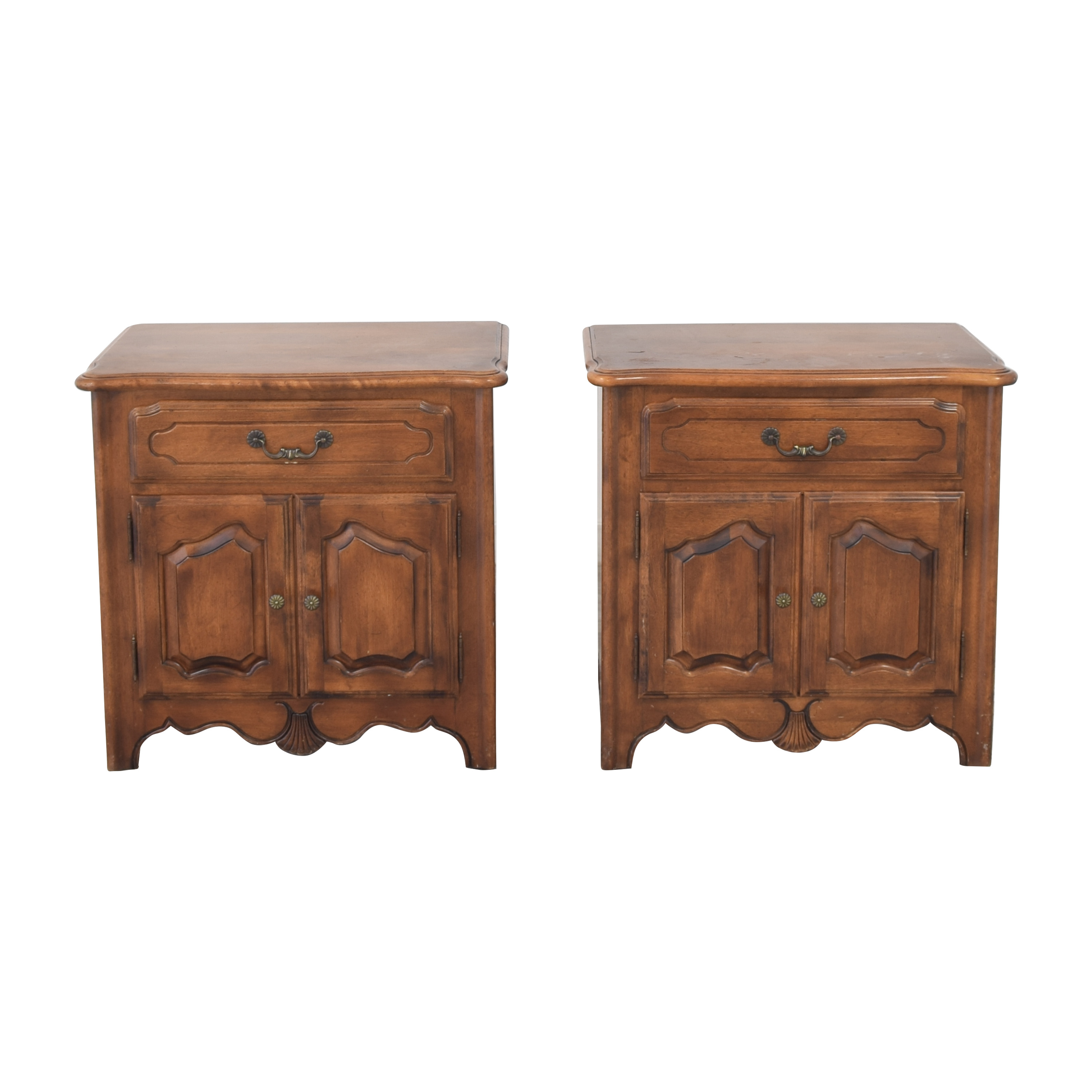 buy Ethan Allen French Country Nightstands Ethan Allen End Tables