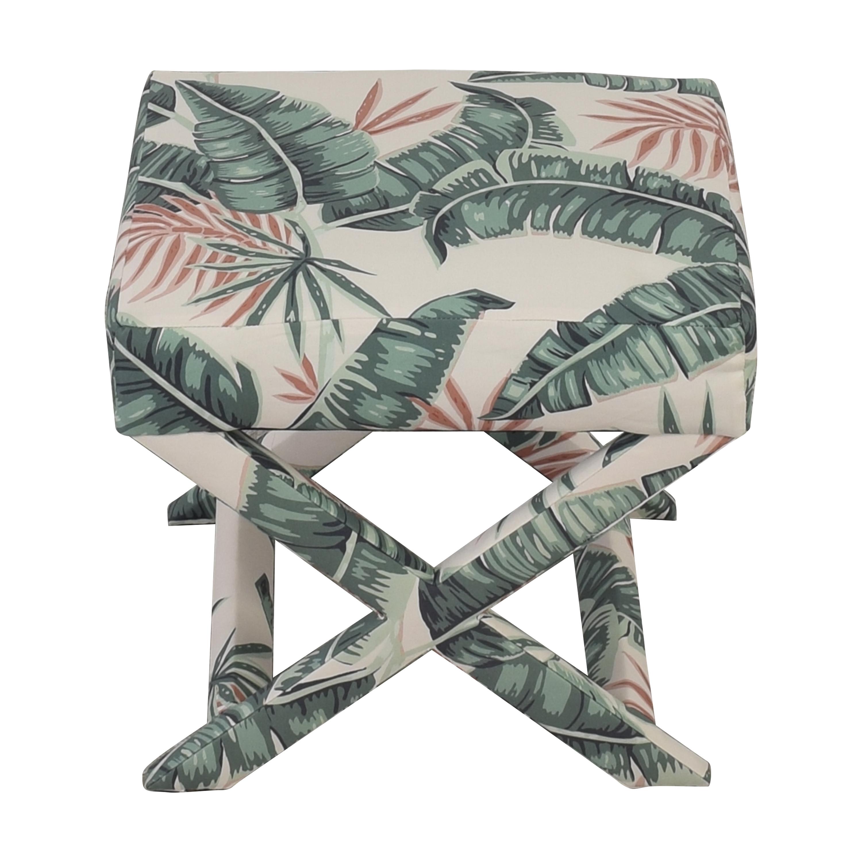 shop Banana Palm X Bench The Inside Chairs