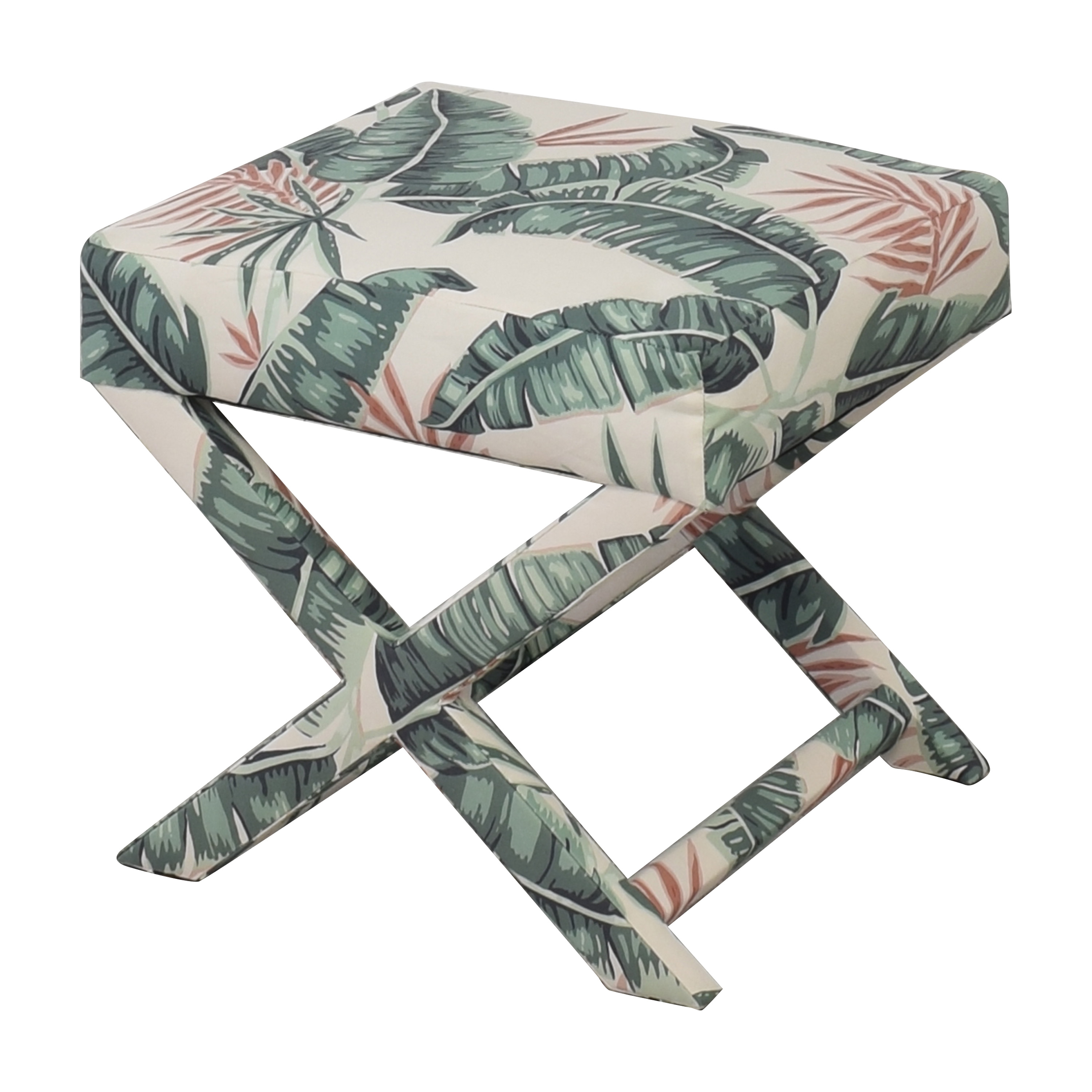 The Inside Banana Palm X Bench for sale