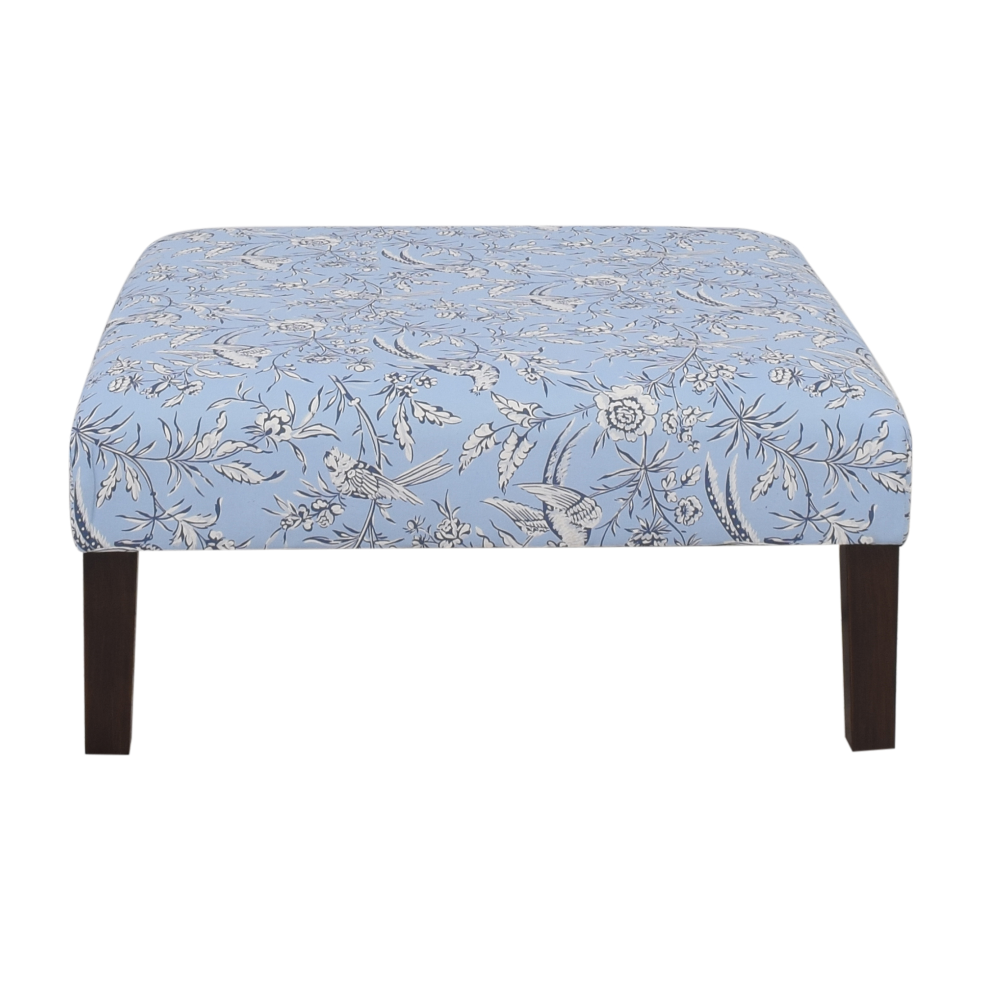 The Inside Blue Aviary Cocktail Ottoman / Chairs