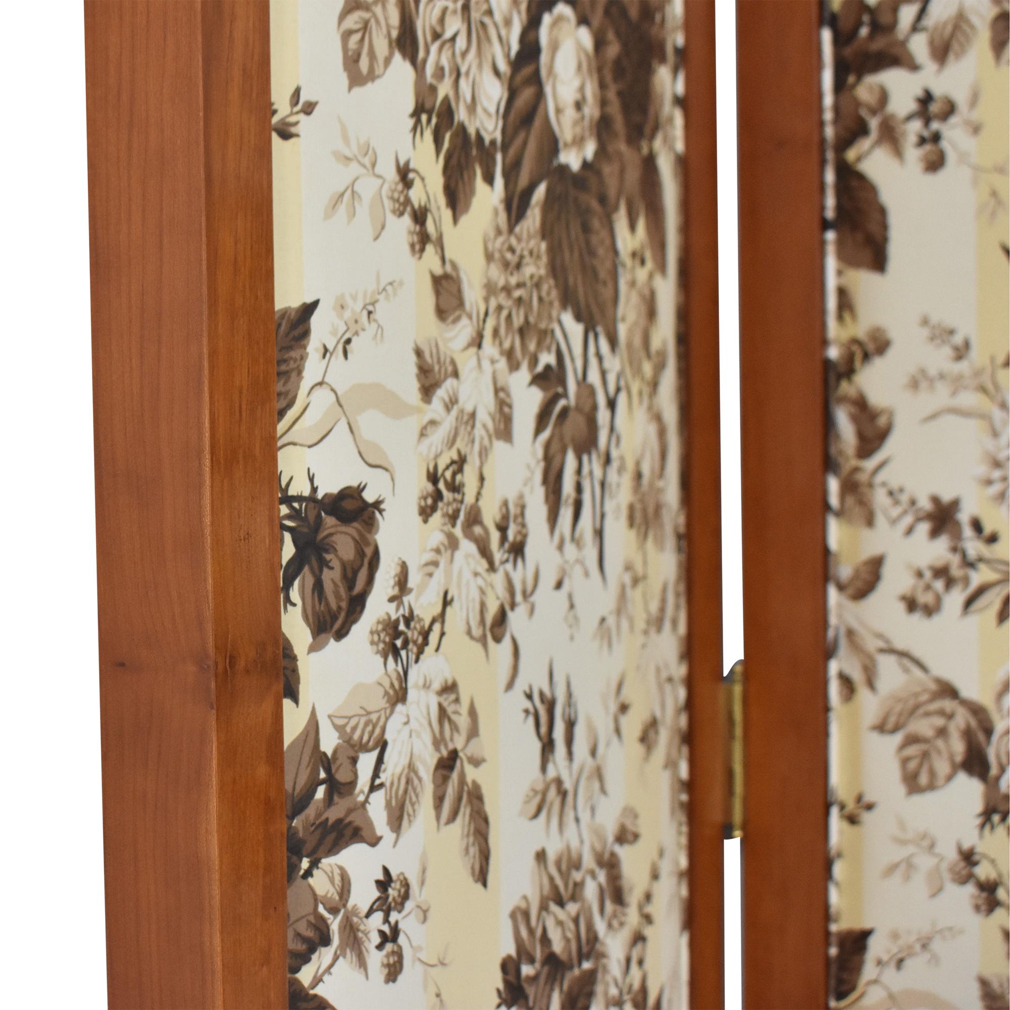 buy Decorative Three Panel Screen Divider