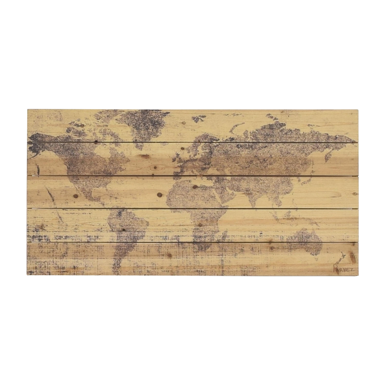 buy Parvez World Map Wall Art