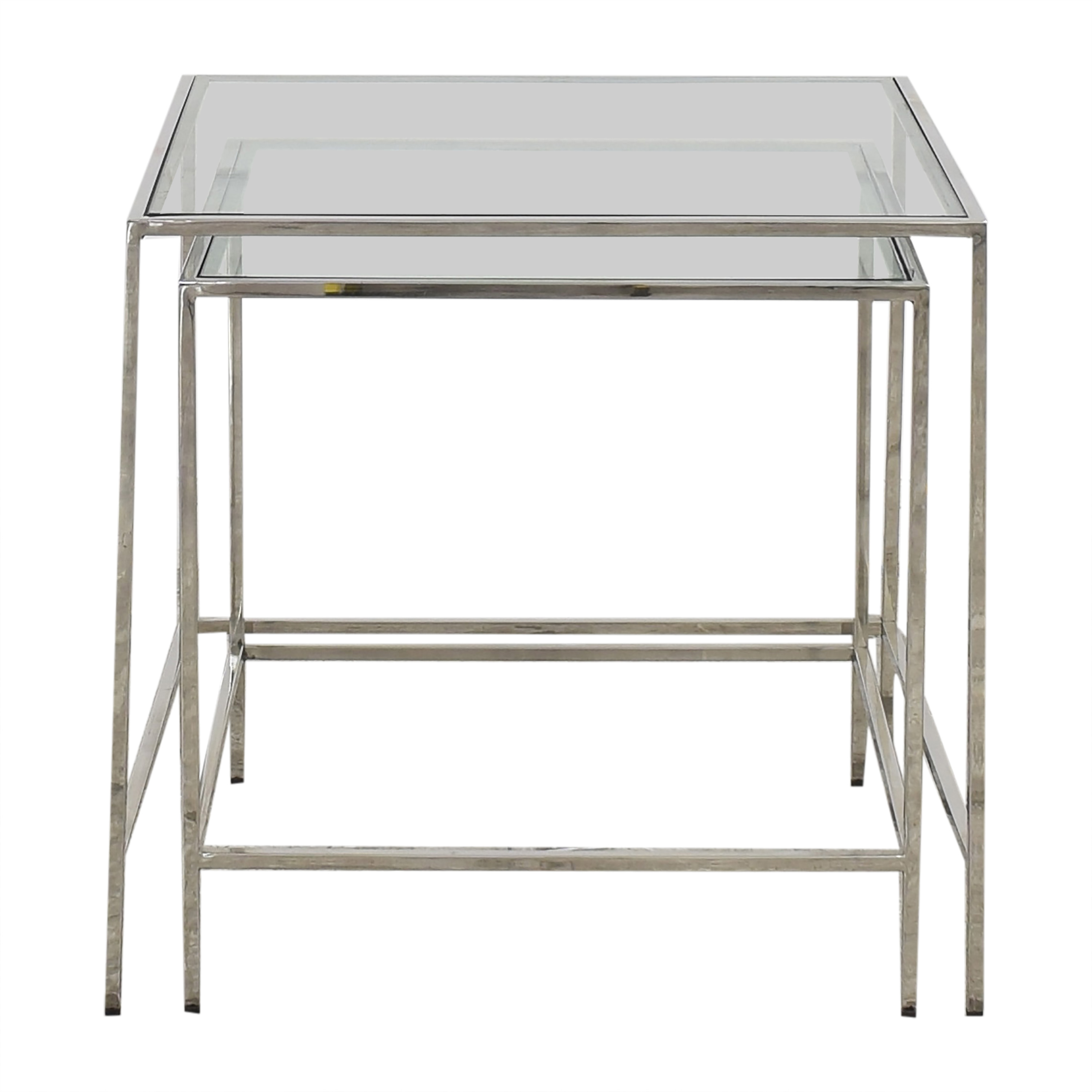 shop Mitchell Gold + Bob Williams Nesting Side Tables Mitchell Gold + Bob Williams Accent Tables