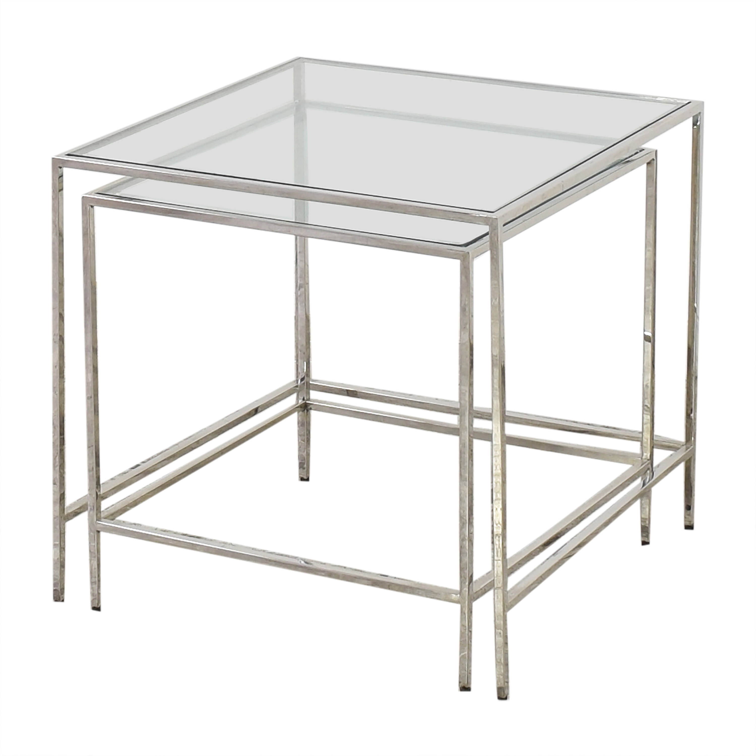 Mitchell Gold + Bob Williams Nesting Side Tables sale