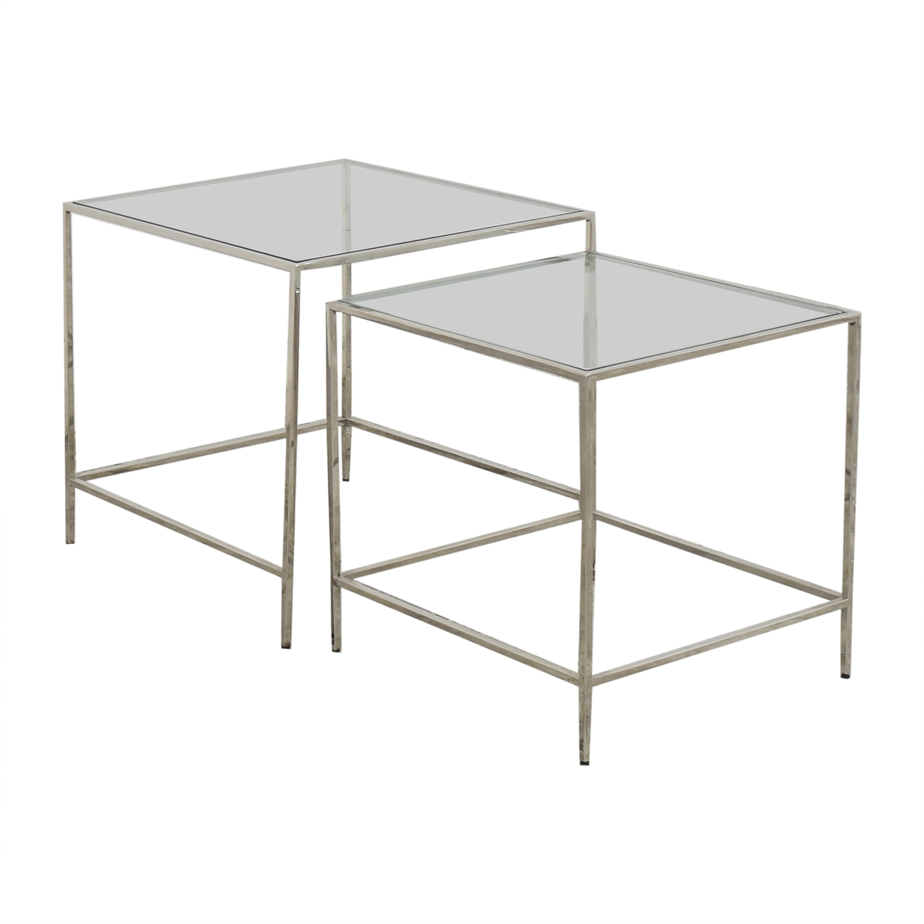 Mitchell Gold + Bob Williams Nesting Side Tables / Accent Tables