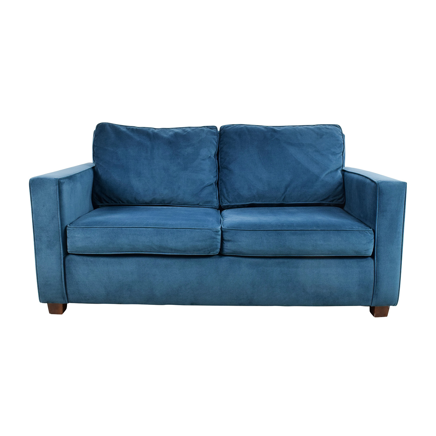 39% OFF West Elm West Elm Celestial Blue Henry Loveseat Sofas