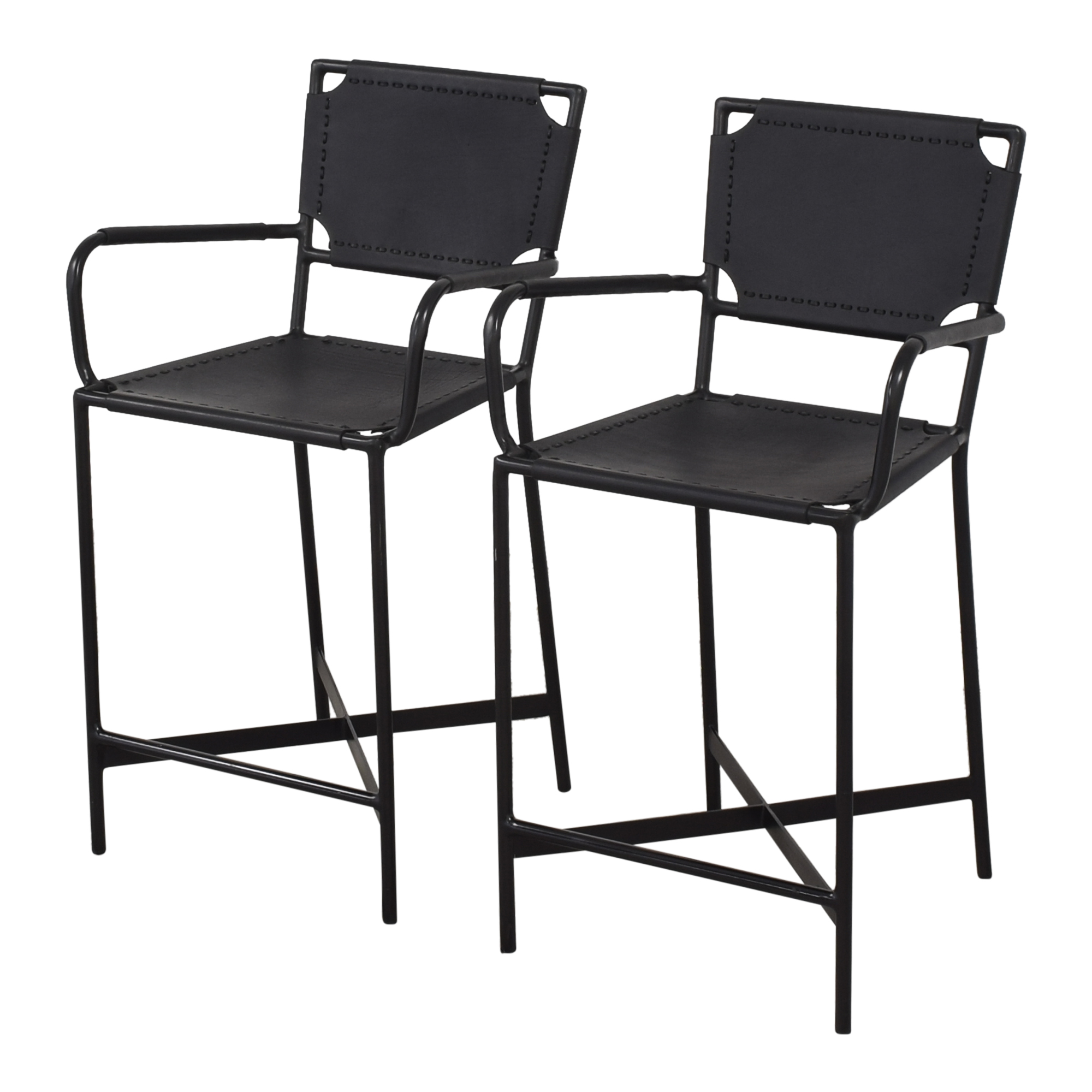 Crate & Barrel Crate & Barrel Laredo Counter Stools Chairs