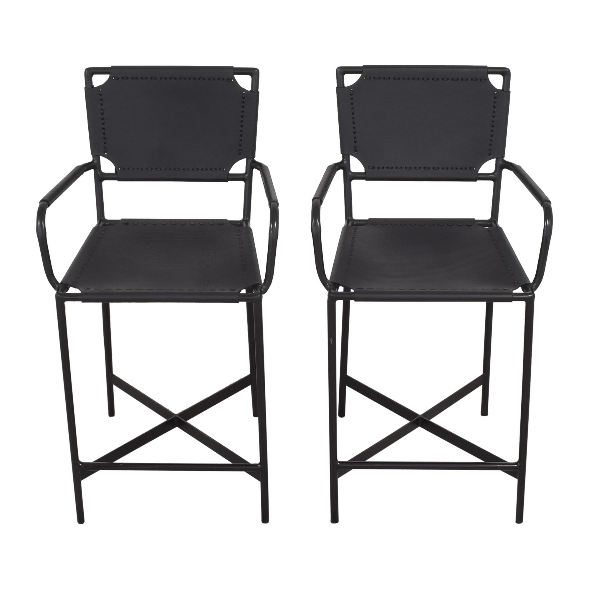 buy Crate & Barrel Laredo Counter Stools Crate & Barrel Chairs