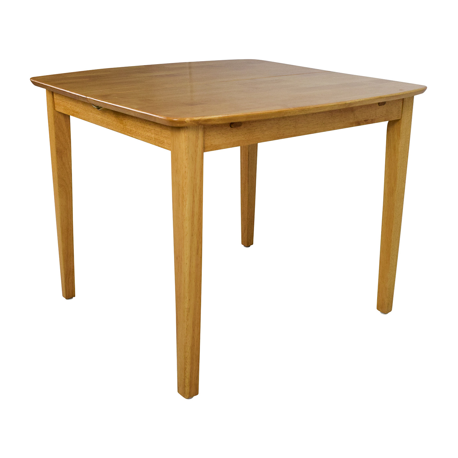 48 off unknown solid wood extension dining table tables for Solid wood dining table