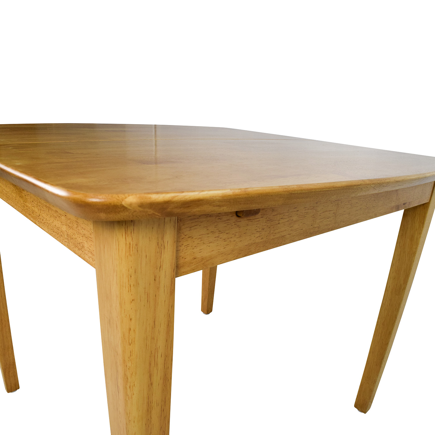 Solid Wood Kitchen Tables: Unknown Solid Wood Extension Dining Table / Tables