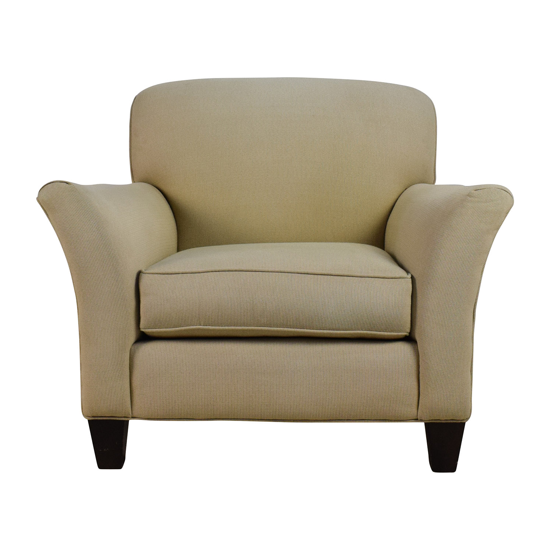90 Off Rowe Furniture Rowe Furniture Capri Beige Sofa Chair Chairs