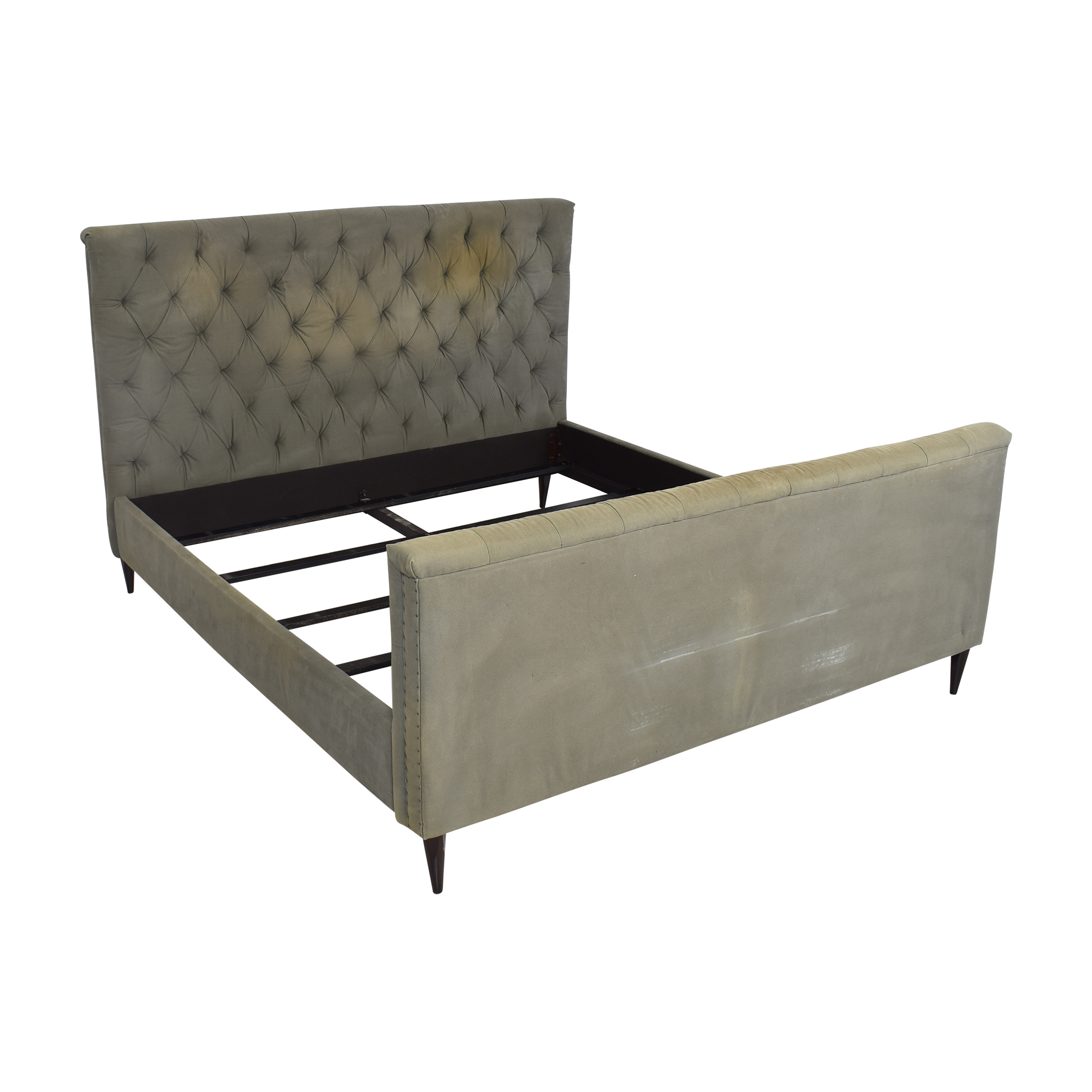 Restoration Hardware Restoration Hardware Chesterfield King Bed used