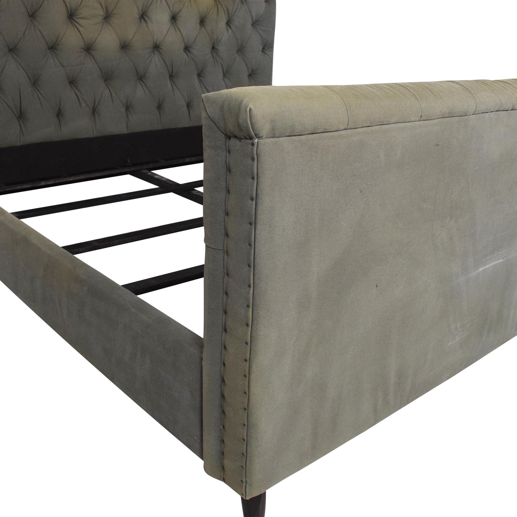 Restoration Hardware Chesterfield King Bed / Bed Frames