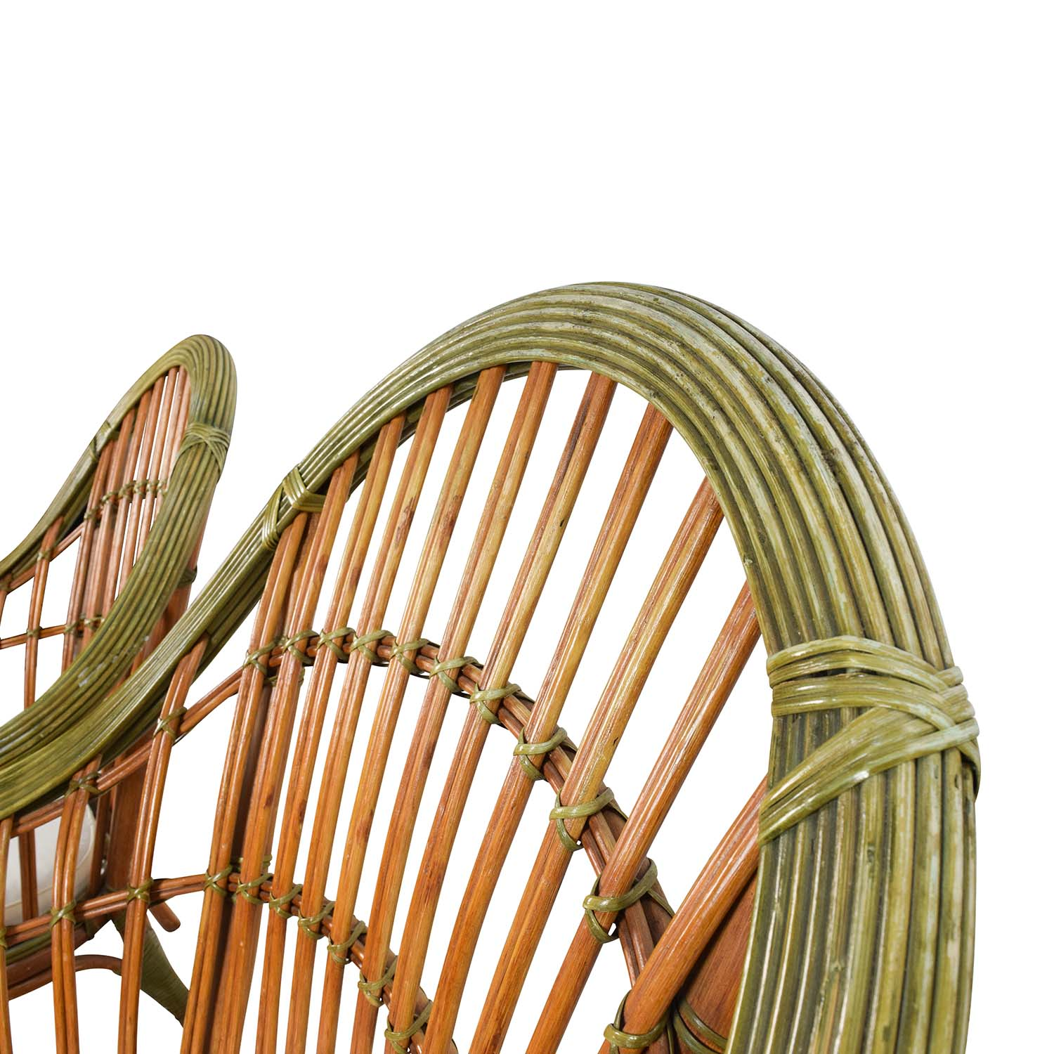 buy Pair Of Wicker Arm Chairs With Cushions Chairs