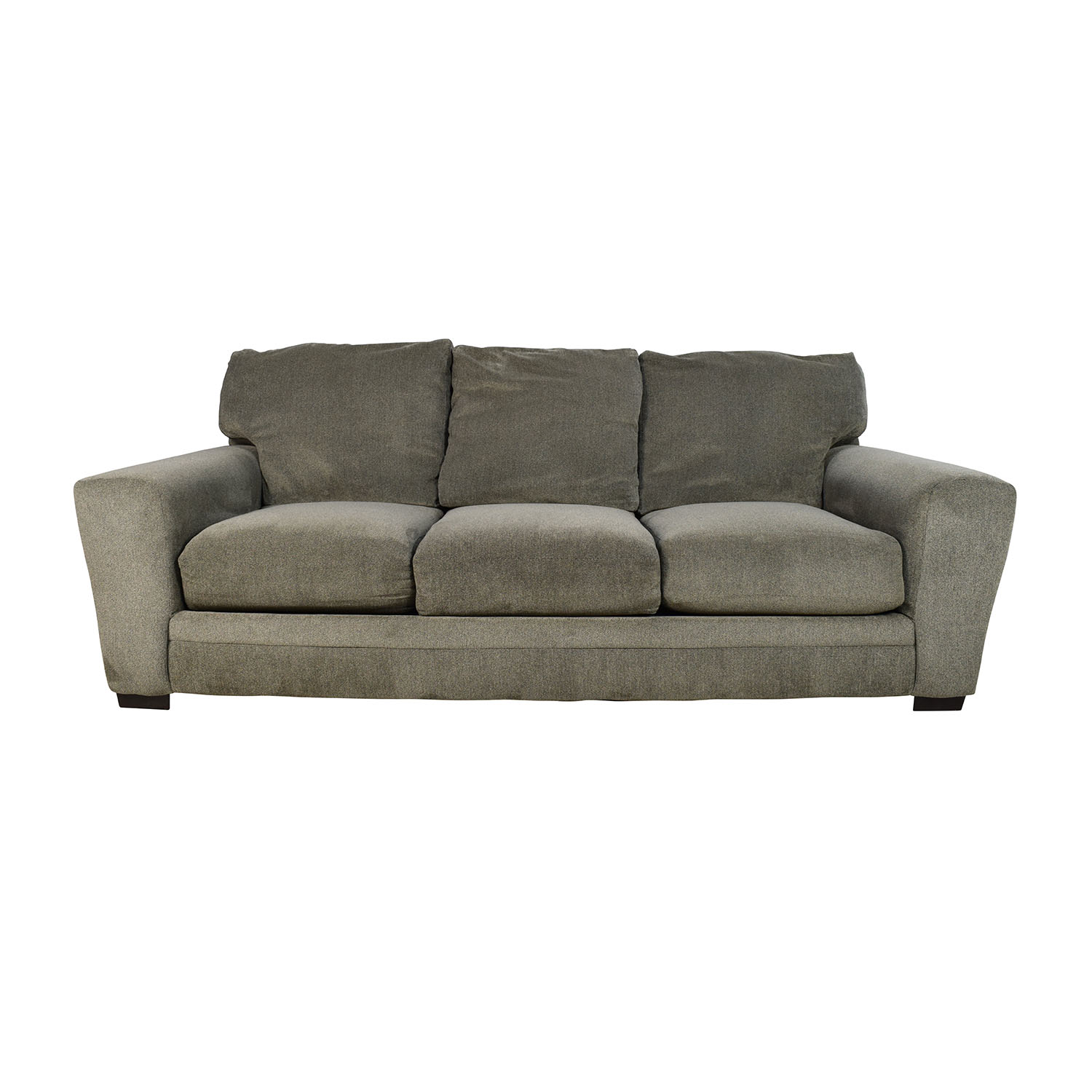 Awesome Bobs Furniture Bobs Furniture Gray Jackson Sofa Classic Sofas ...