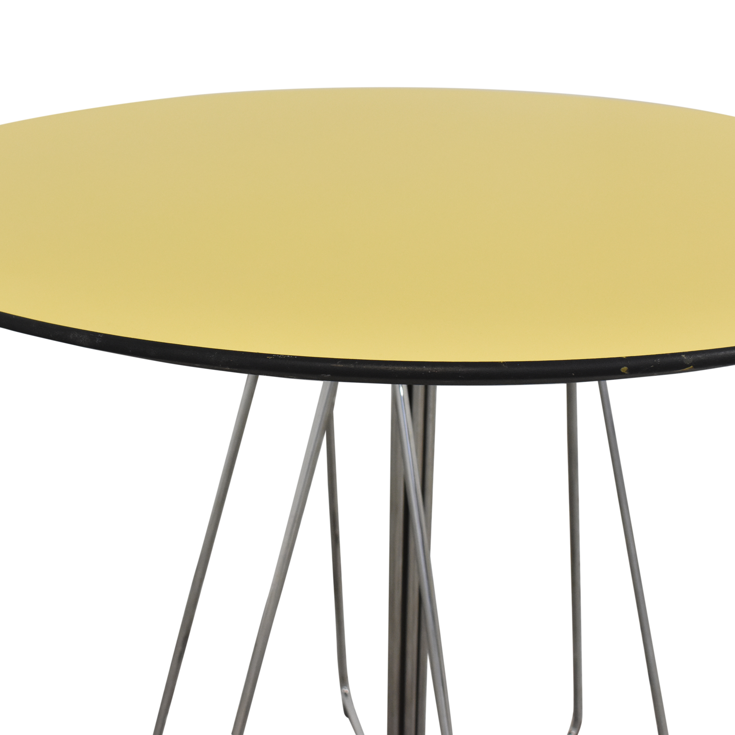 Knoll Knoll Vingelli Designs Paperclip Table yellow and silver
