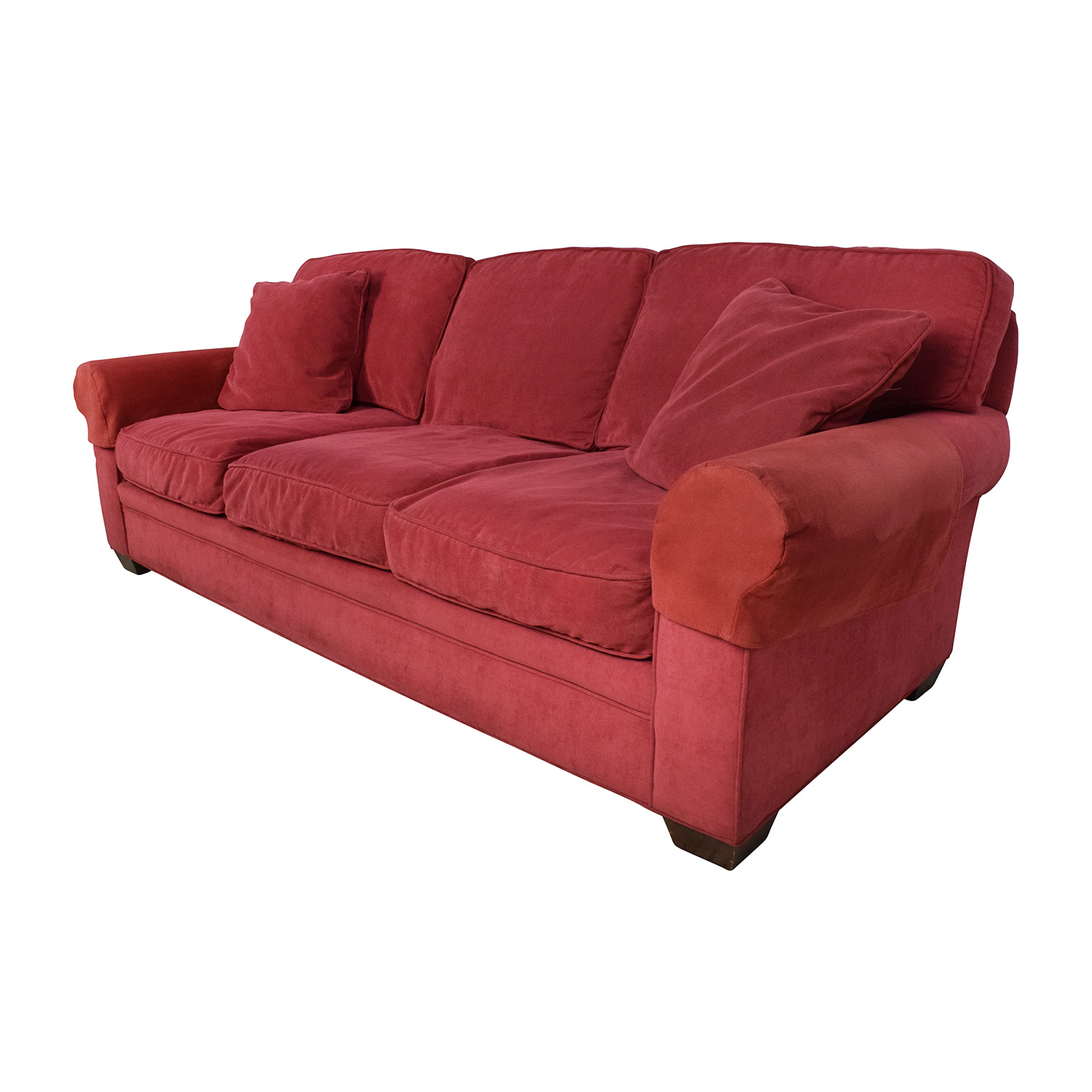 77 off crate and barrel crate barrel microfiber suede for Classic loveseat
