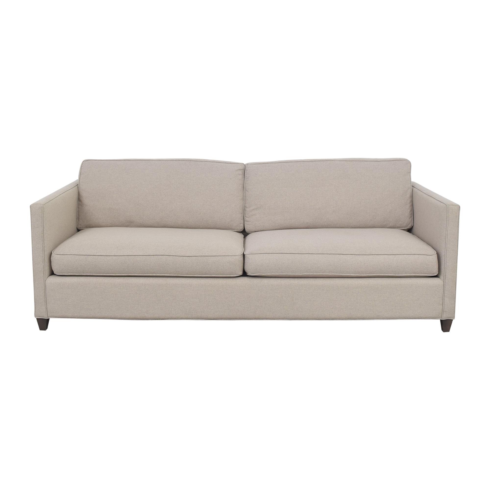 Crate & Barrel Crate & Barrel Dryden Sofa light grey