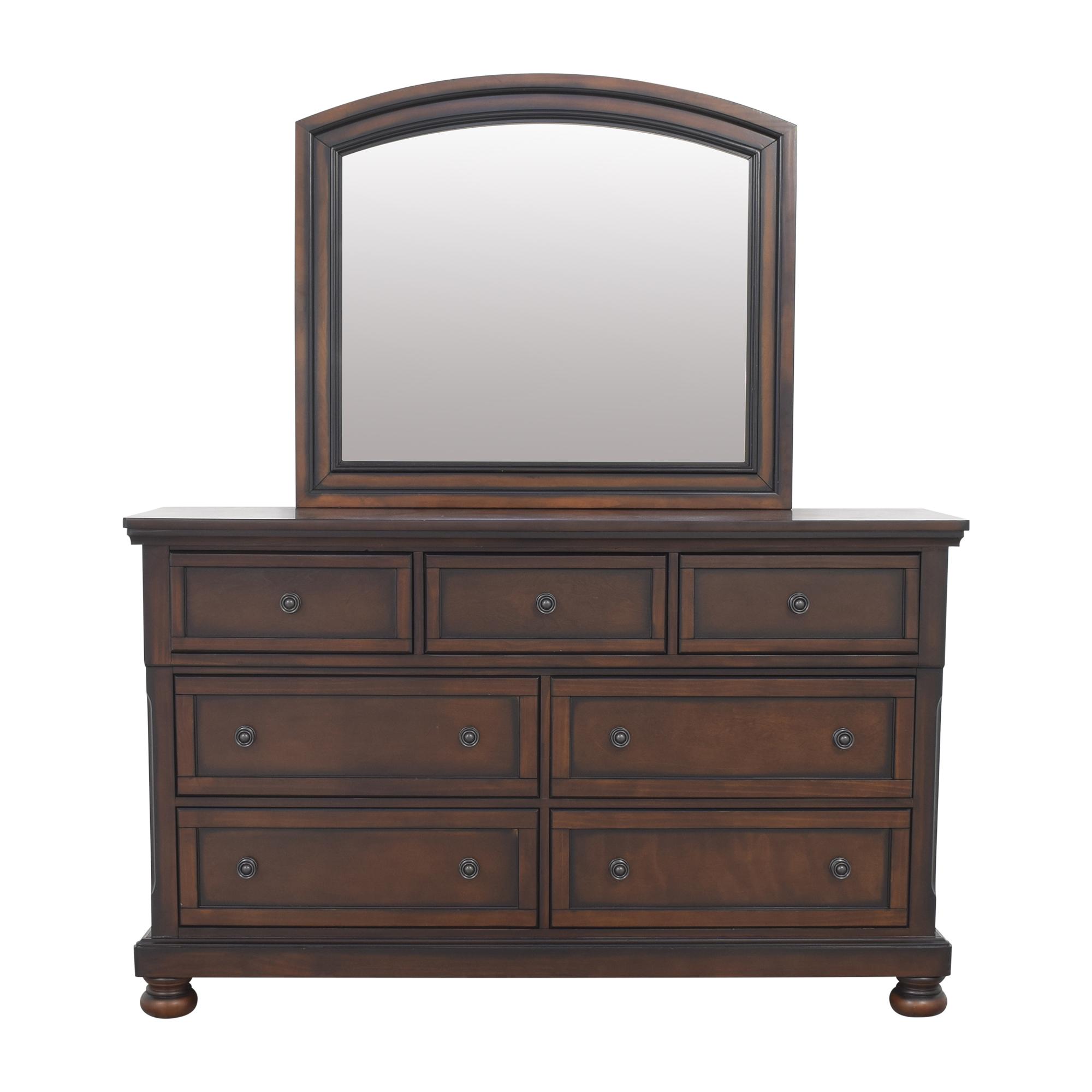 Raymour & Flanigan Donegan Dresser and Mirror / Storage