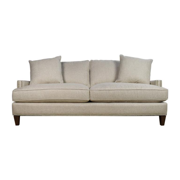 Jennifer Convertibles Jennifer Convertibles 3-Seater Beige Sofa for sale