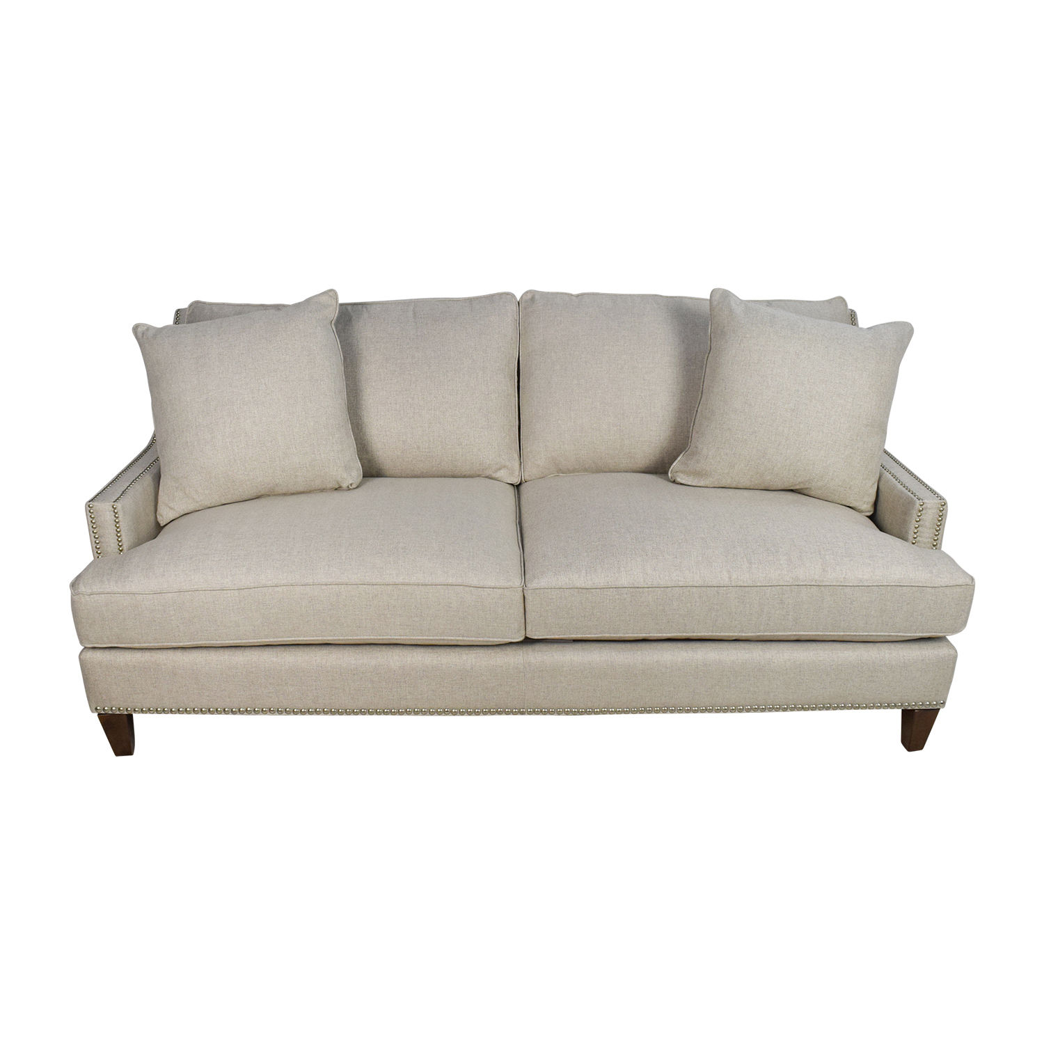 buy Jennifer Convertibles 3-Seater Beige Sofa Jennifer Convertibles