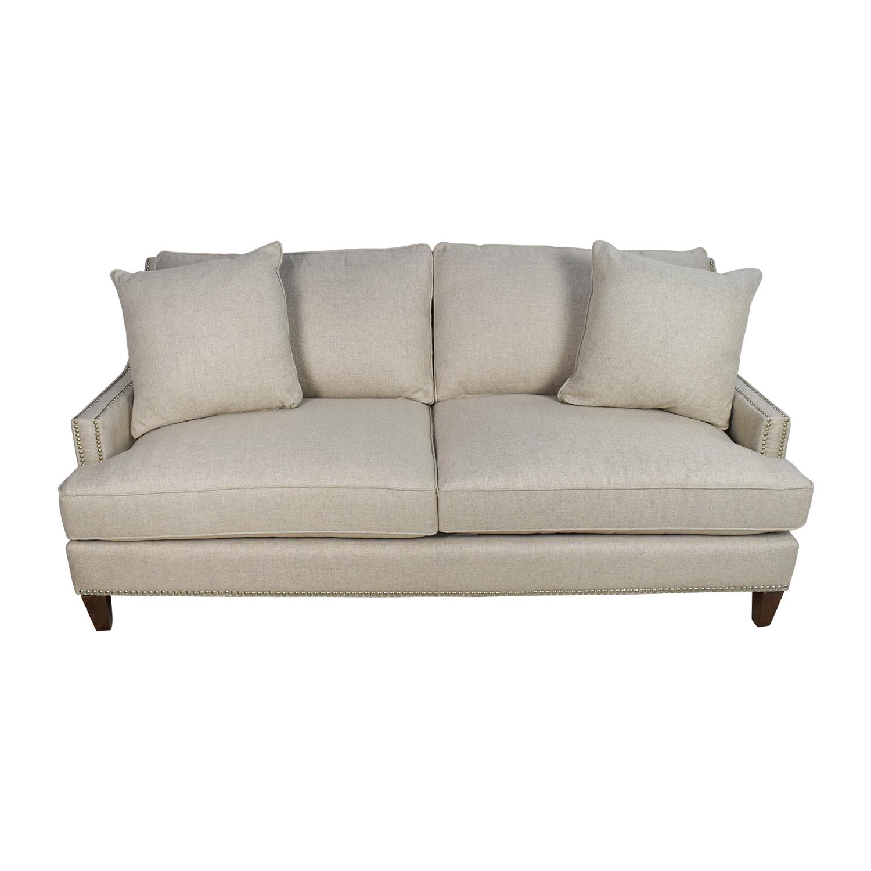 44% OFF - Jennifer Furniture Jennifer Convertibles 3-Seater Beige Sofa /  Sofas
