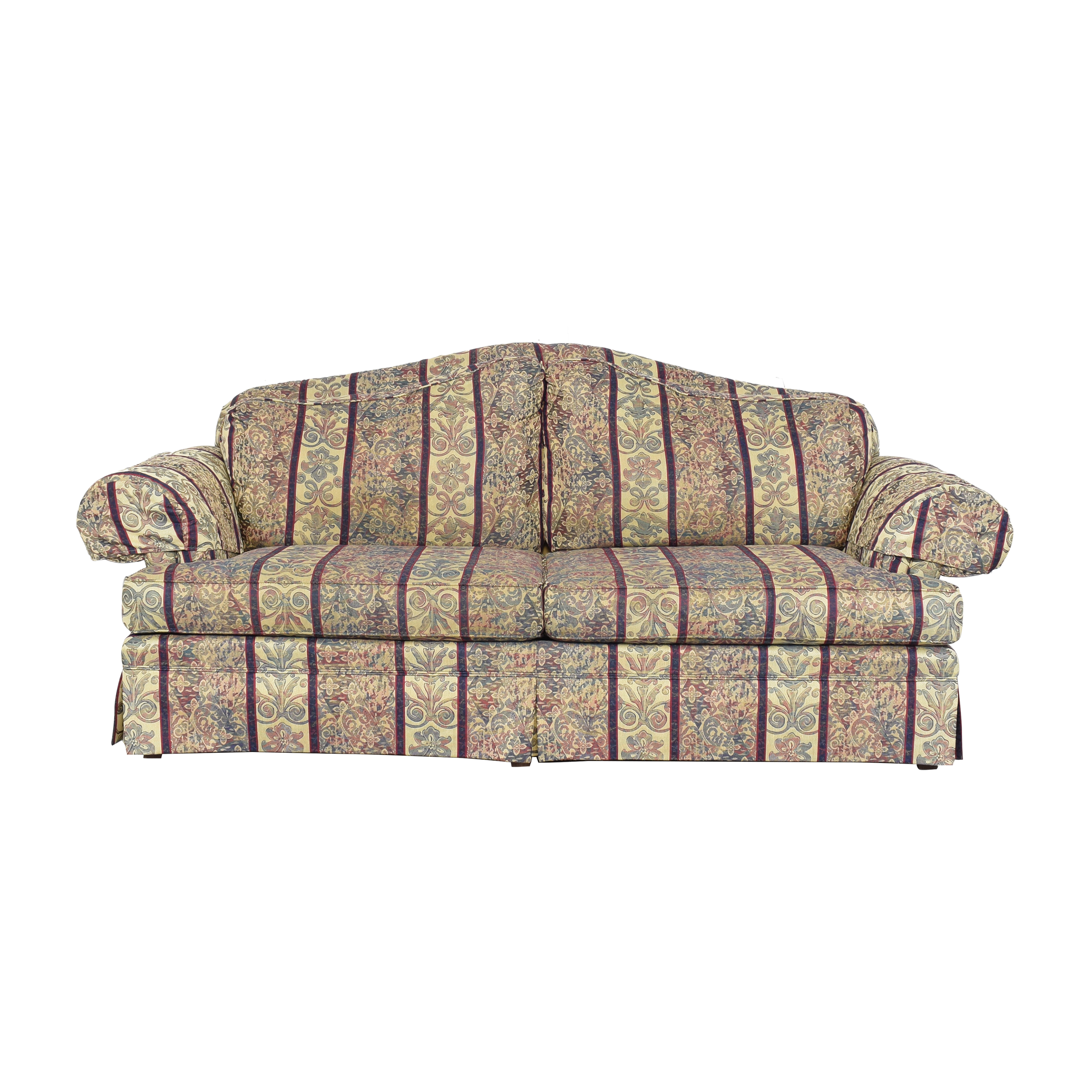 Broyhill Furniture Broyhill Skirted Sofa discount
