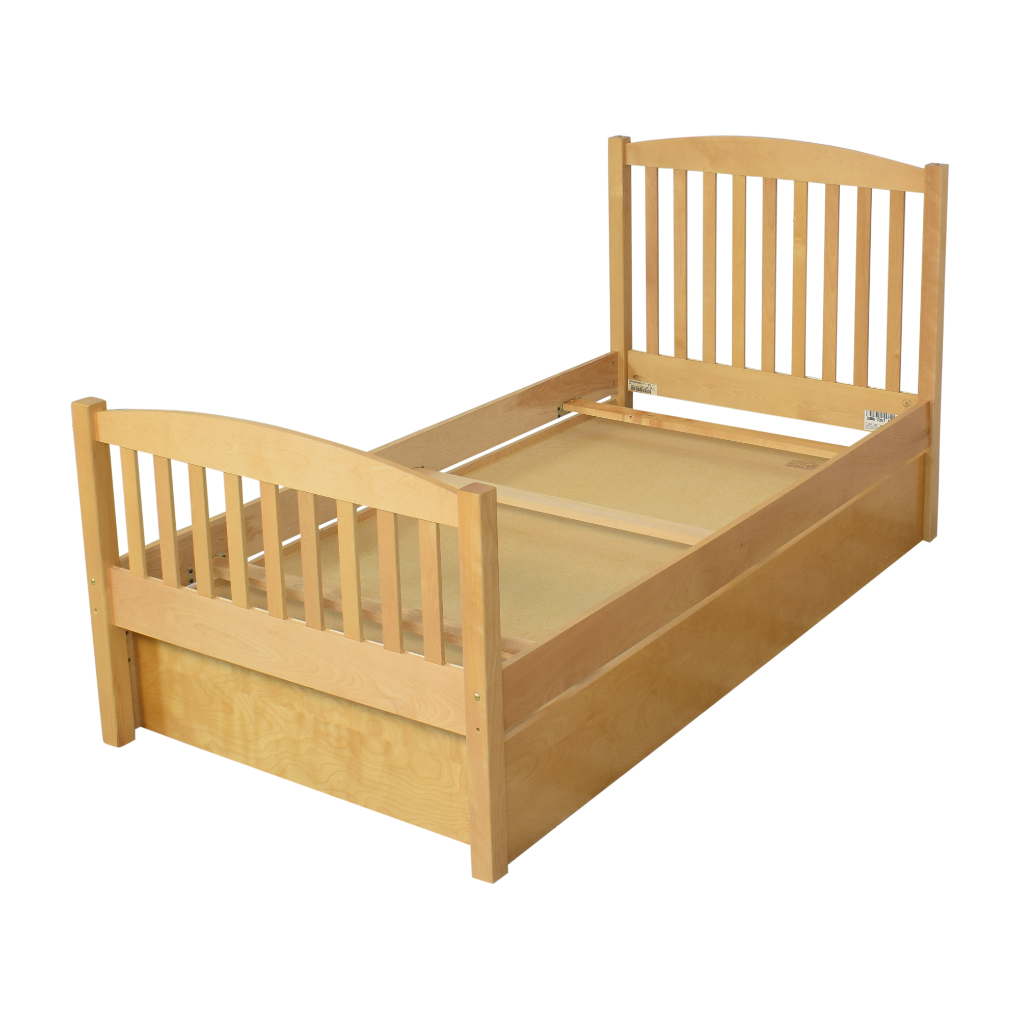 AP Industries AP Industries Twin Bed with Storage nj
