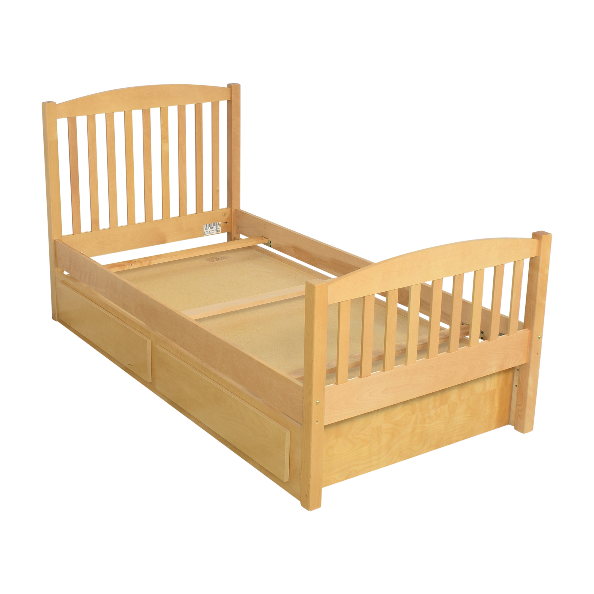 AP Industries Twin Bed with Storage / Bed Frames